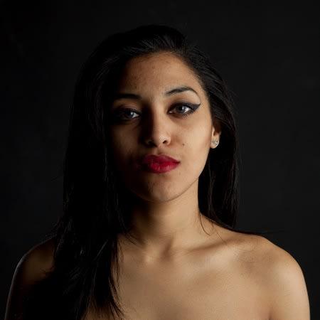 Nicole Buchanan The Skin I'm In, 2015 15 x 15 inches