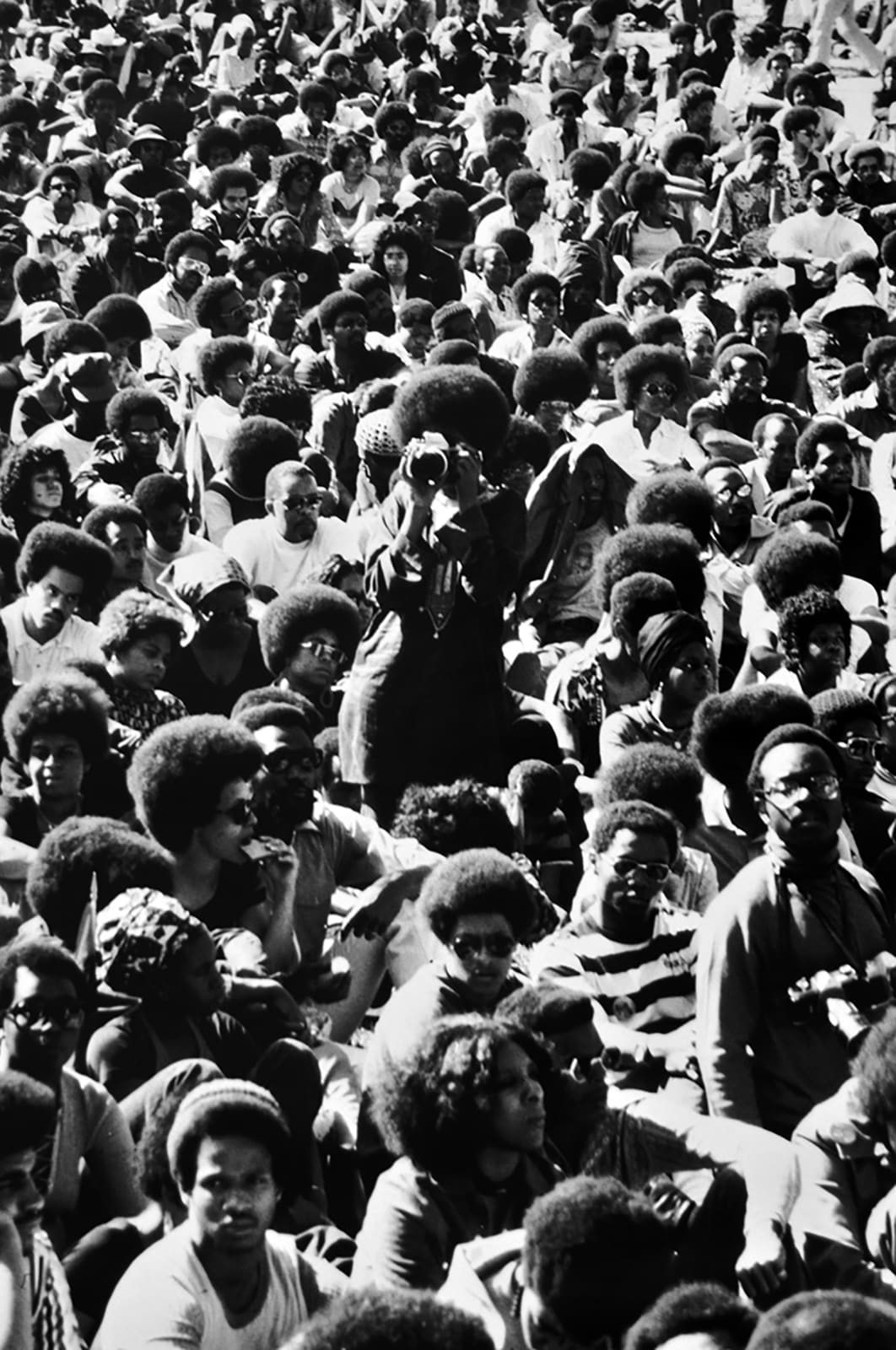 Jim Alexander Were You There, Washington DC, 1972 22.5 x 30.5 inches