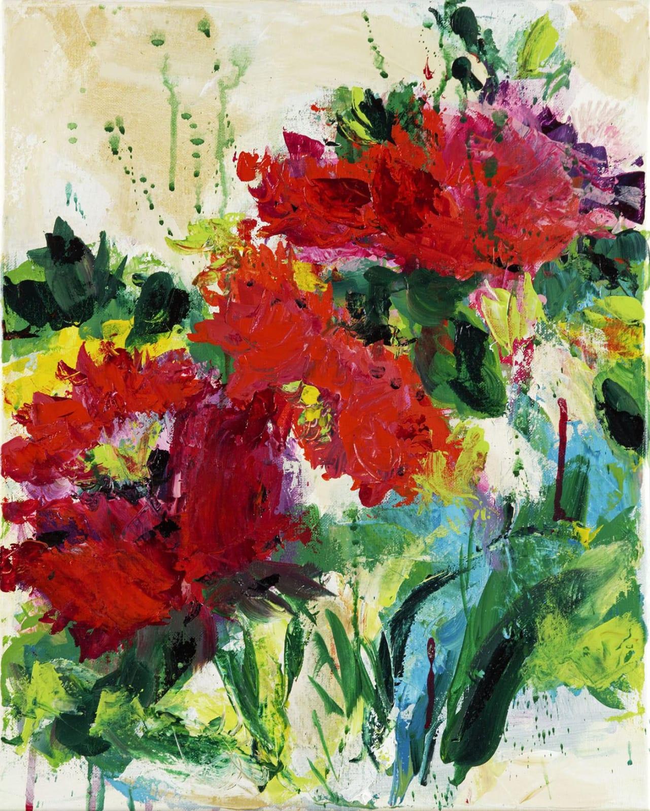 Judy Allen, Red Blooms