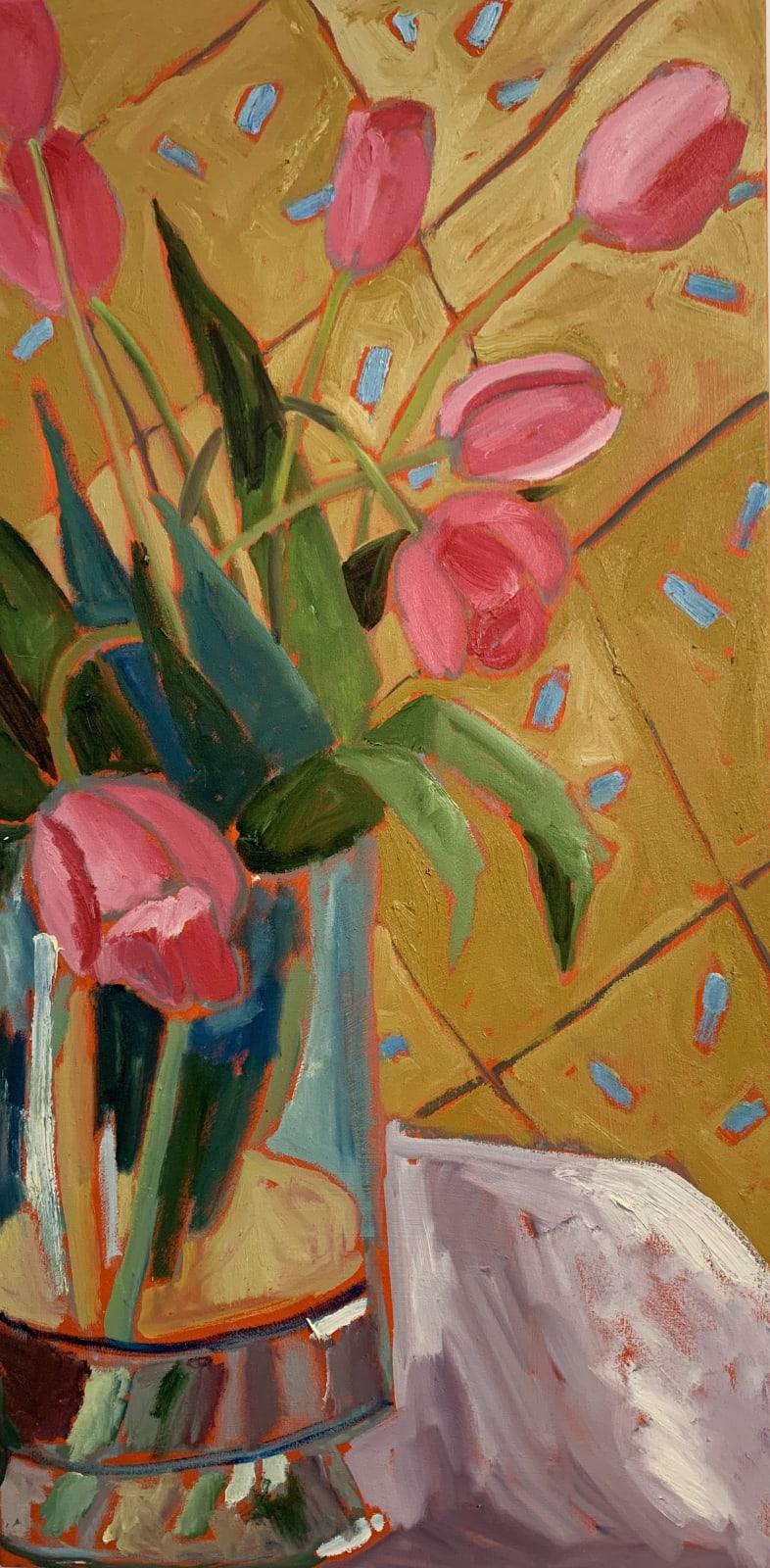 Christopher Broadhurst, The Garden Going On...Spring Tulips, 2020