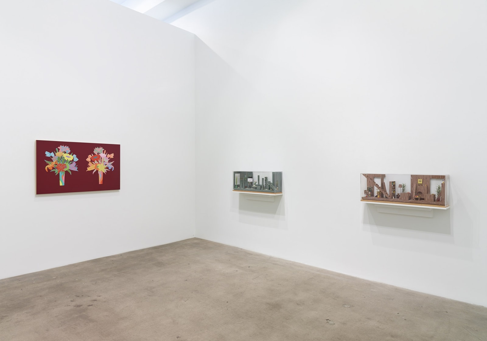 Roland Reiss: Unrepentant Flowers and New Miniature Tableaux