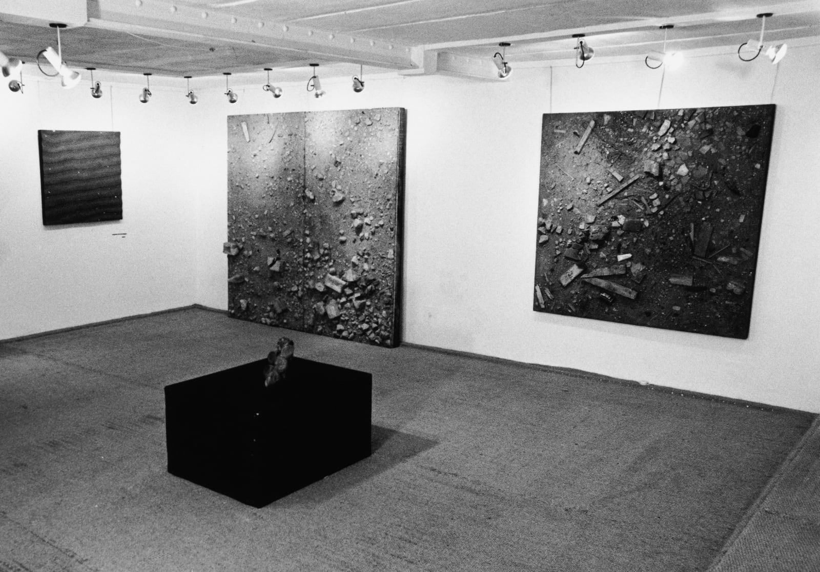 Installation view of Indica Gallery, London, July 1966.