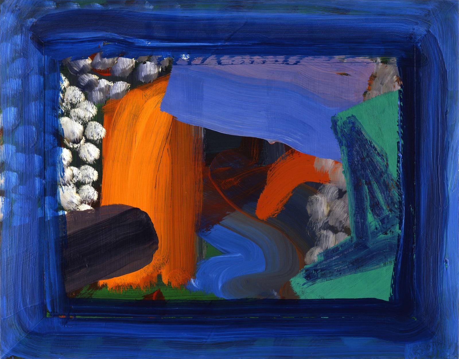 After Visiting David Hockney (second version), 1991-92