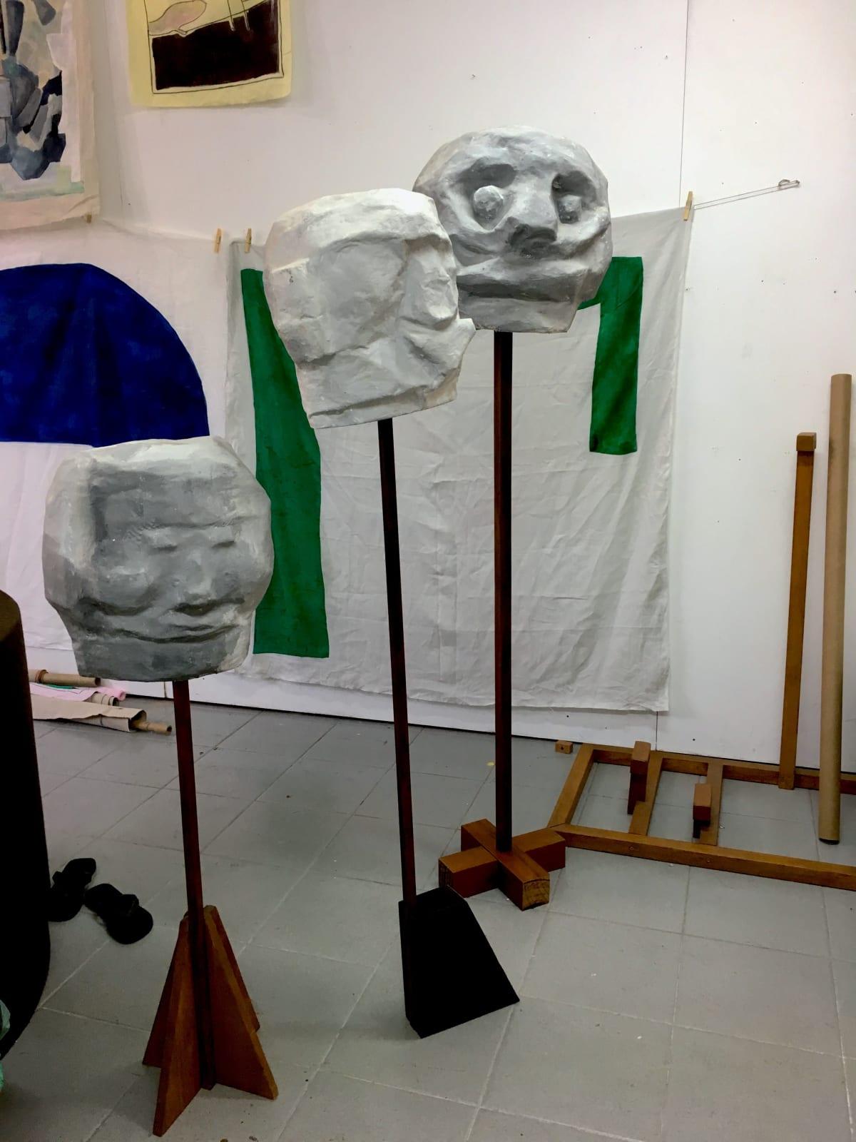 Ana Mazzei's studio