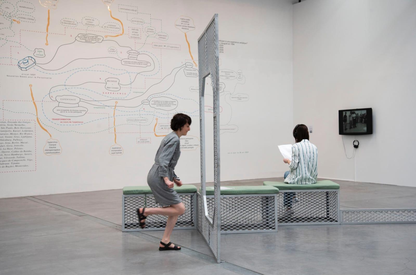 Con(Vivências), exhibition view at Le 19, Centre D'Art Contemporain, Montbéliard, France, 2019