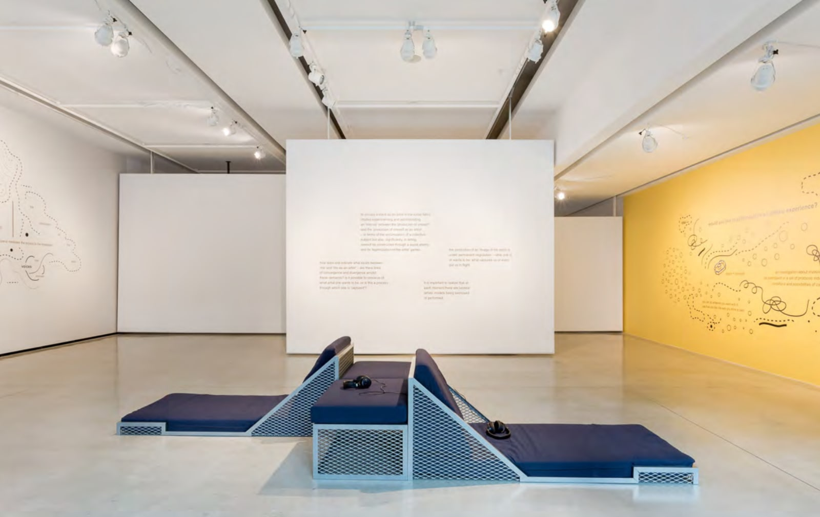Ricardo Basbaum, The production of the artist as a collective conversation, 2014 On view at Audain Gallery, Vancouver, 2014