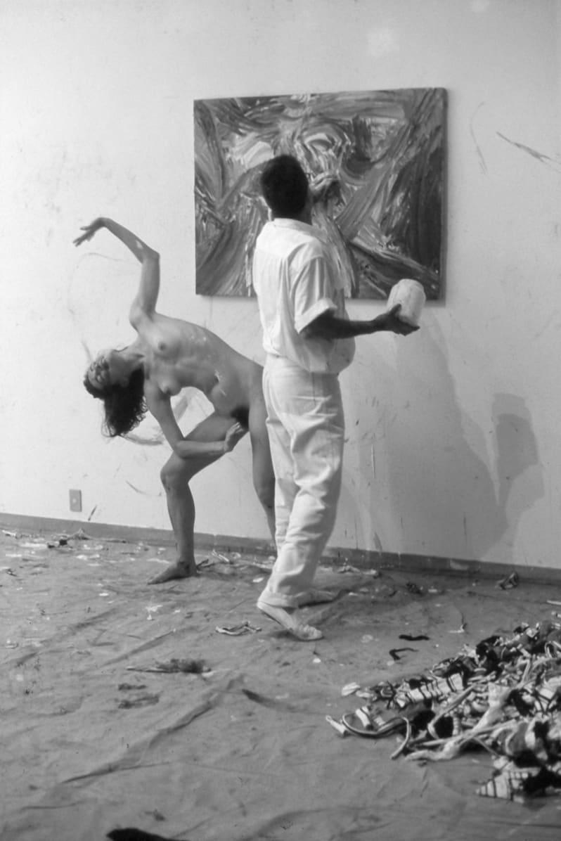 Dudu Santos, Untitled, 1991 documentation of performance