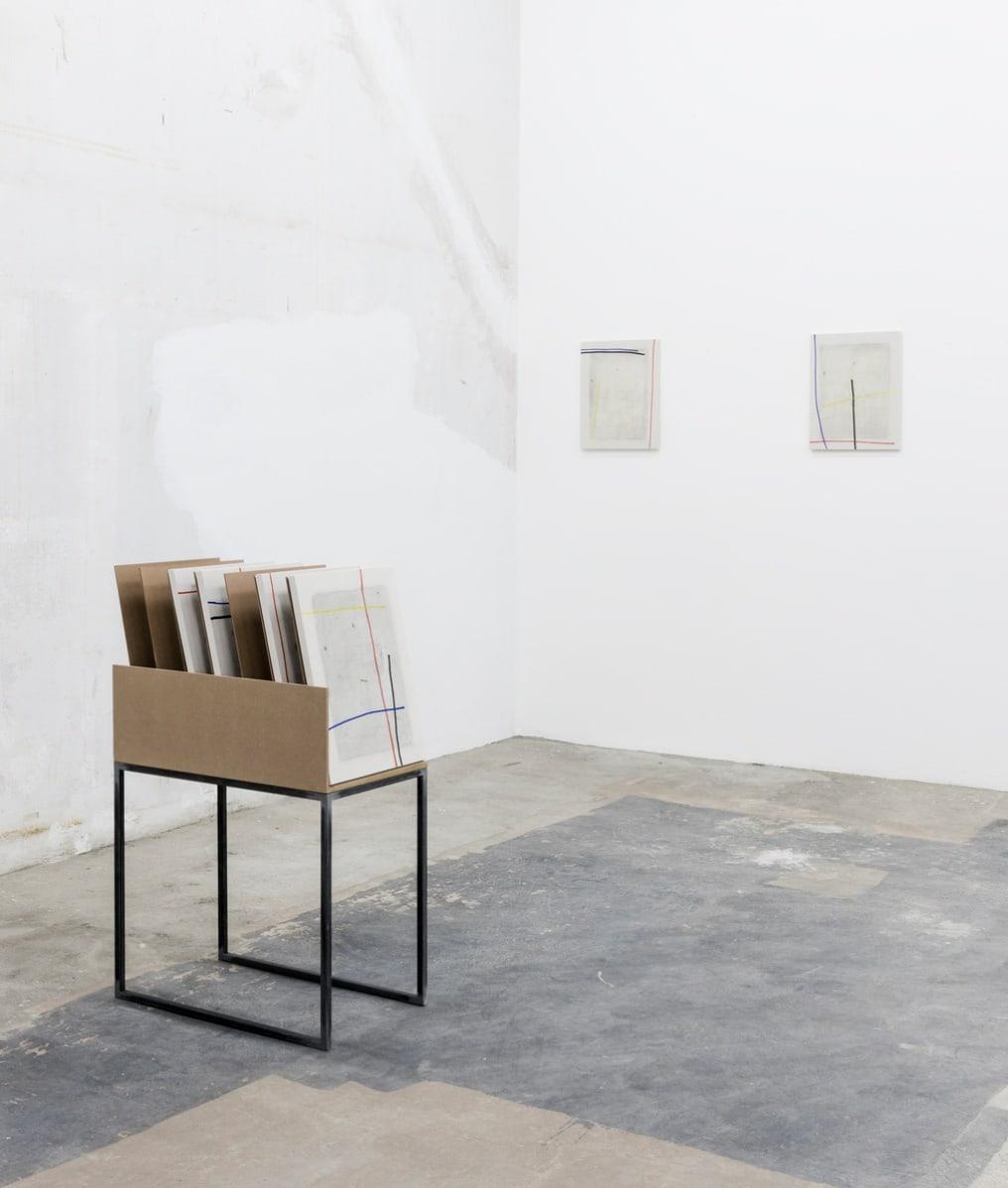Riccardo Baruzzi, Il porta pittura di Snoopy con Mondrian, 2017