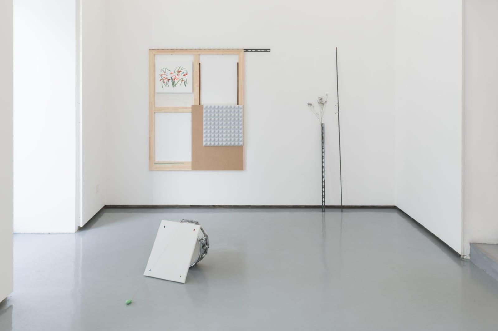 Del disegno e del deserto rosso, exhibition view at The Goma, Madrid, 2018