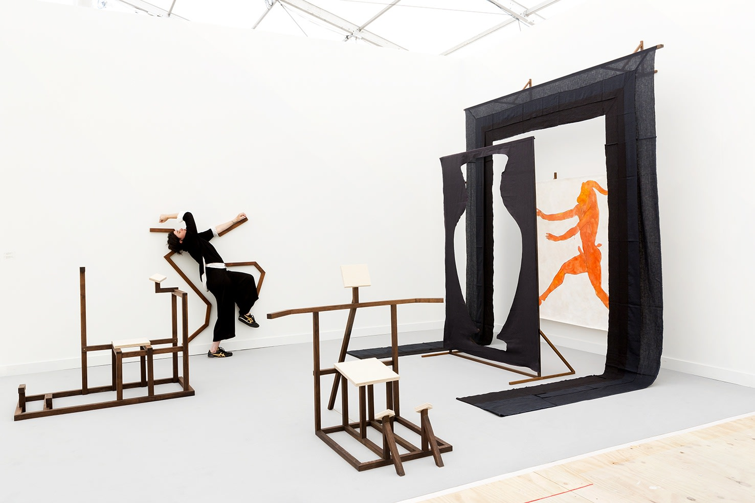 Frieze New York, solo project, 2018