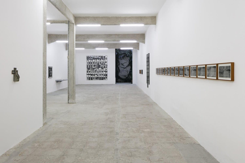 Hudinilson Jr, exhibition view at Galeria Jaqueline Martins, São Paulo, 2019