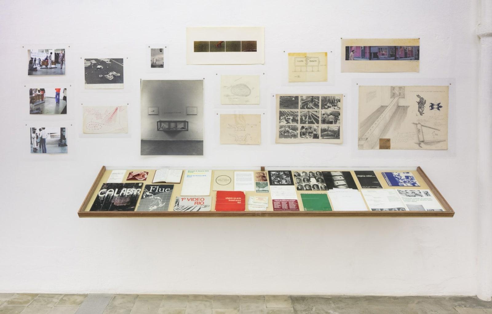 Regina Vater, exhibition view at Galeria Jaqueline Martins, São Paulo, 2018