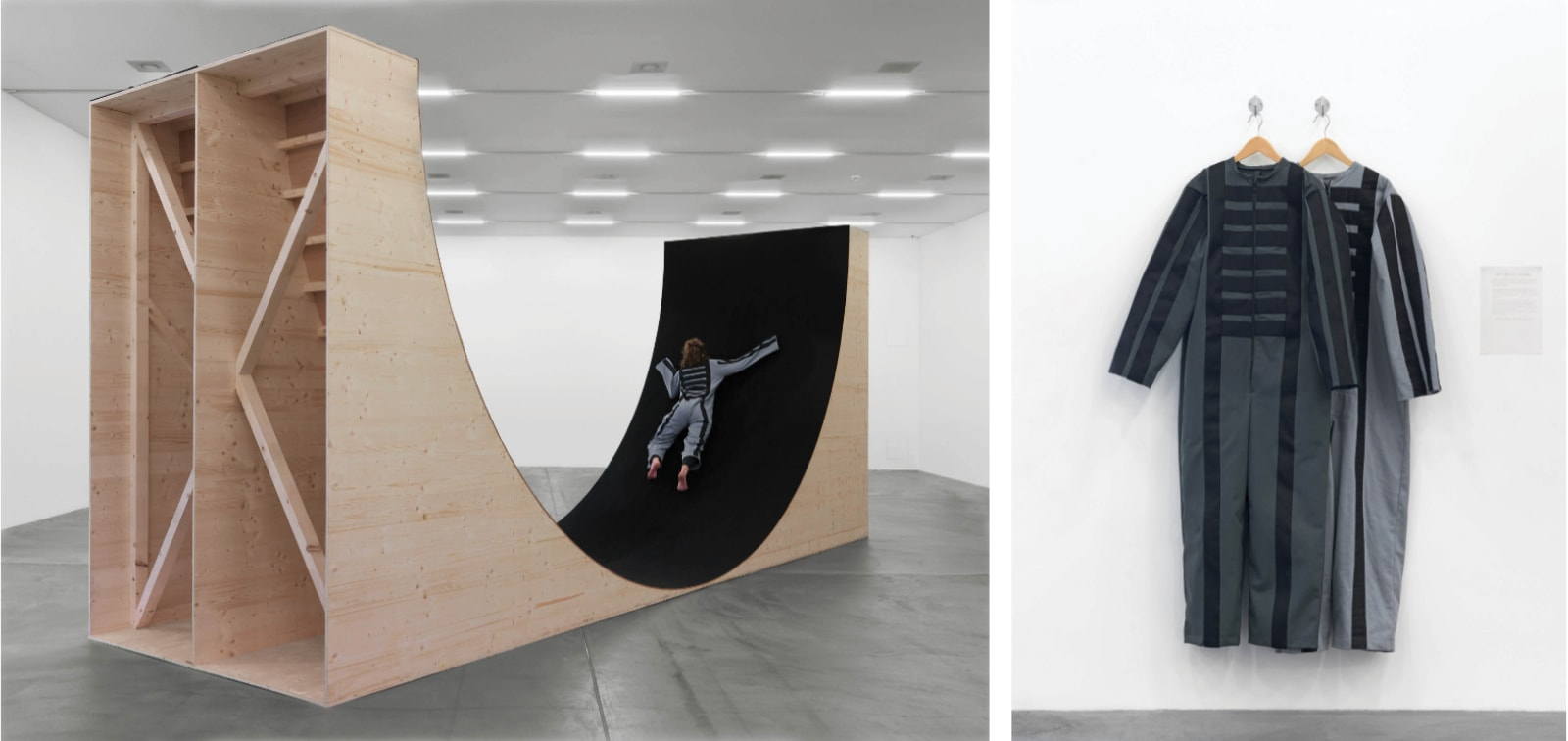 Martha Araújo, Para Um Corpo Nas Suas Impossibilidades, 1985 on view at Resistance Performed, Migros Museum, Zurich, 2015