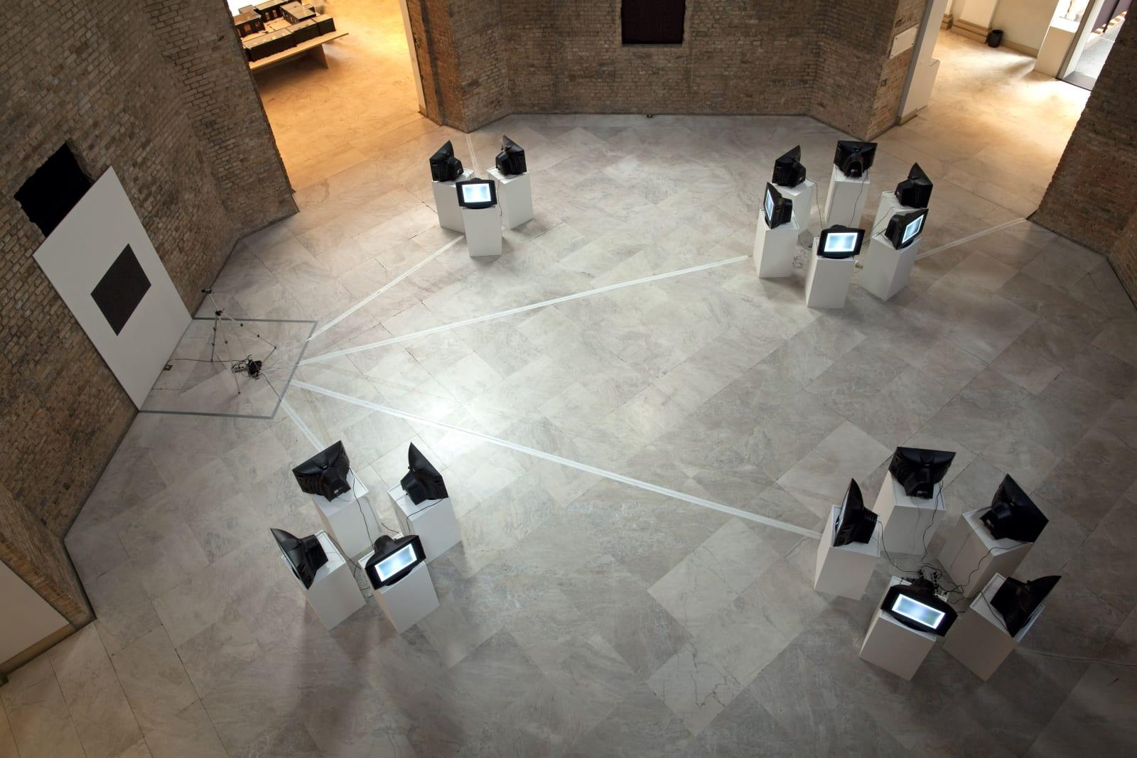 Polígonos Regulares, 1981 On view at Pinacoteca do Estado, São Paulo, 2011