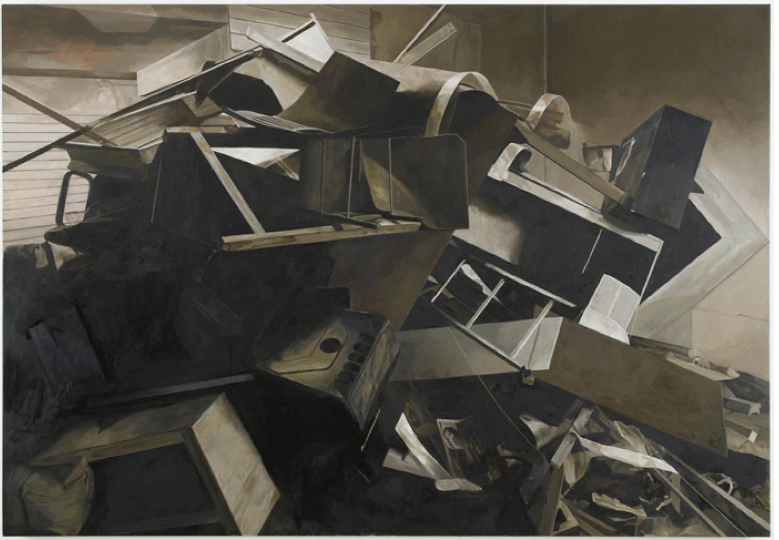 Stuart Brisley, The Missing Text, Interregnum 2, 2012