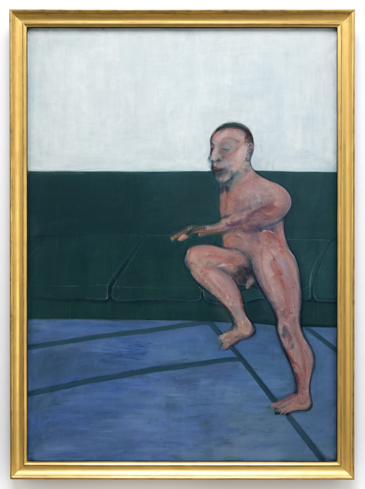 Francis Bacon Seated Figure on a Couch 1959 oil on canvas 77.95 x 55.71 inches 198 x 141.5 cm More Info