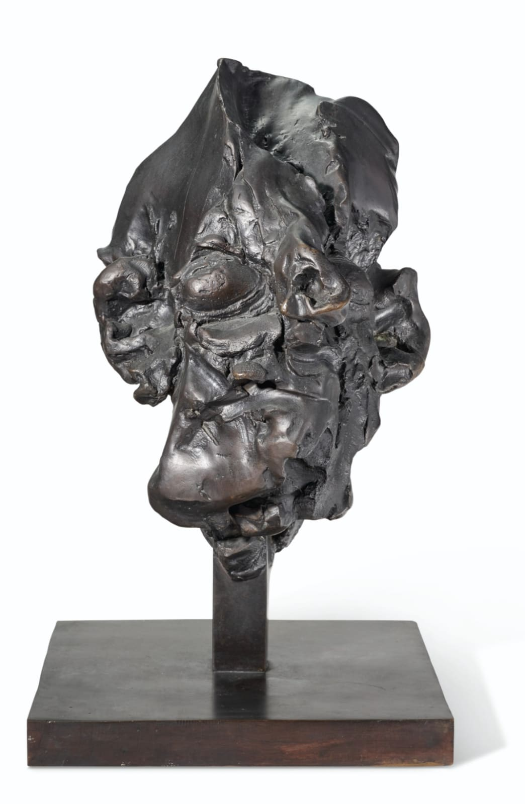 Willem de Kooning Head #3 1973 bronze 20 x 11 1/2 x 11 5/8 inches 50.8 x 29.2 x 29.5 cm Edition 8 of 12, with 3 APs