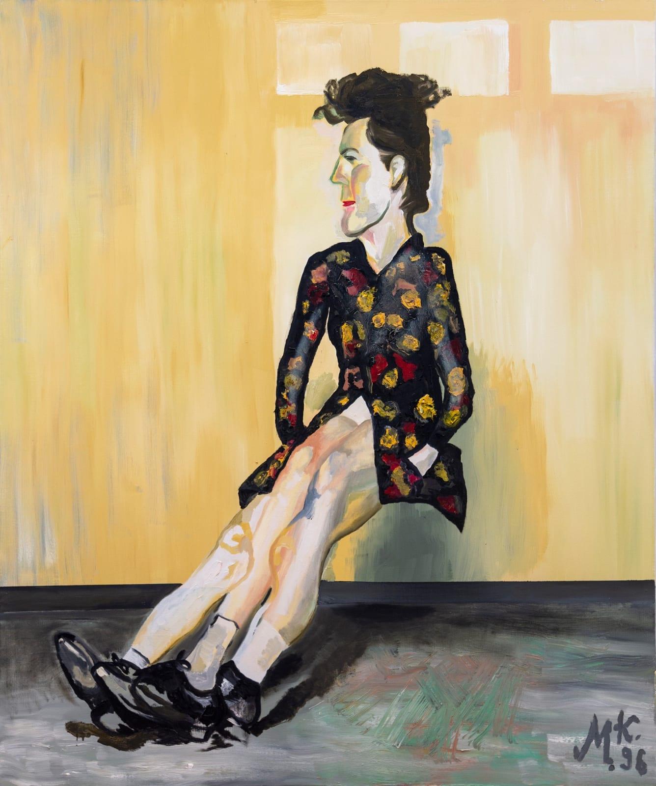 Martin Kippenberger Ohne titel Aus der Serie 'Window Shopping bis 2 Uhr nachts' 1996 oil on canvas 70.87 x 59.06 inches 180 x 150 cm