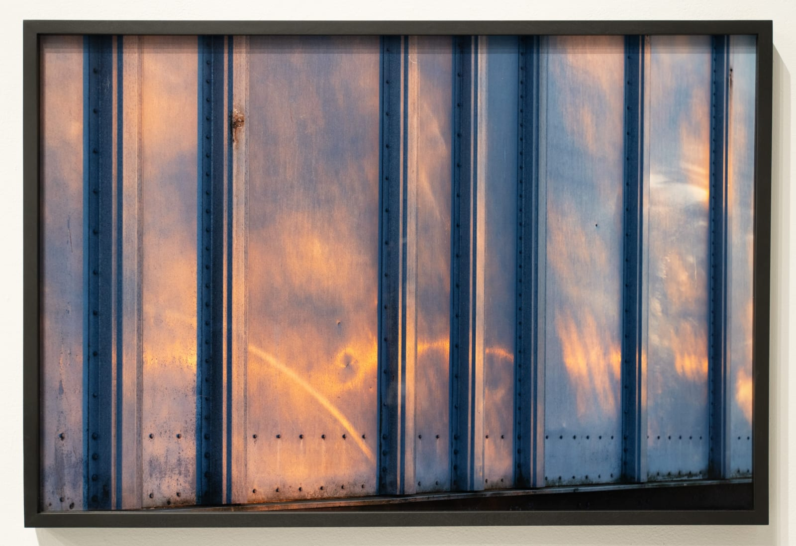 Mickey Aloisio Truck Surface #1, 2020 Archival pigment print (framed) 26 x 39 inches edition of 7 + 2 APs