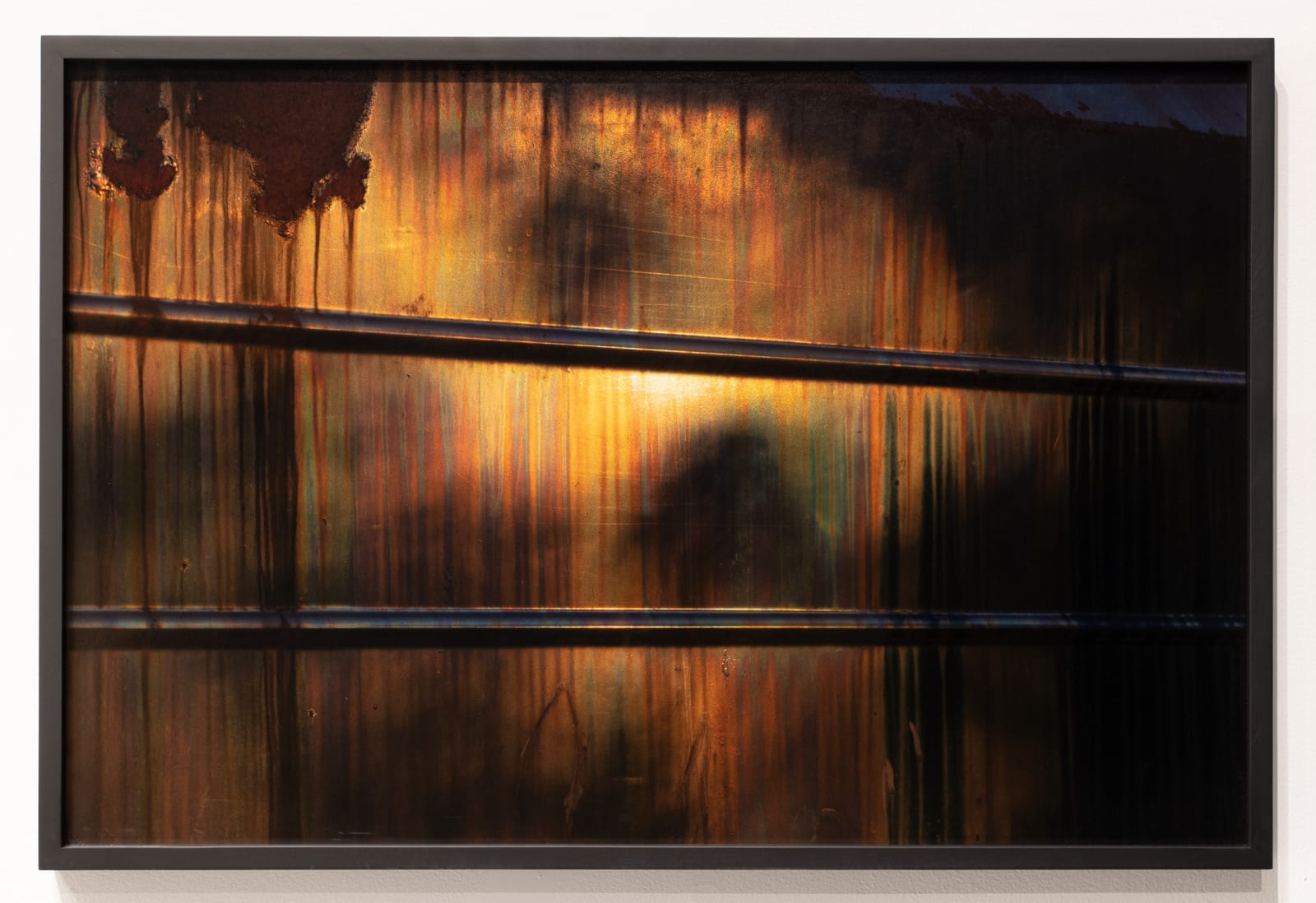 Mickey Aloisio Truck Surface #2, 2021 Archival pigment print (framed) 26 x 39 inches edition of 7 + 2 APs