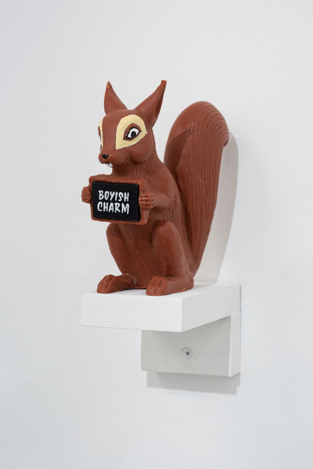 Lindsey White Naysayers, 2021 resin cast squirrel unique