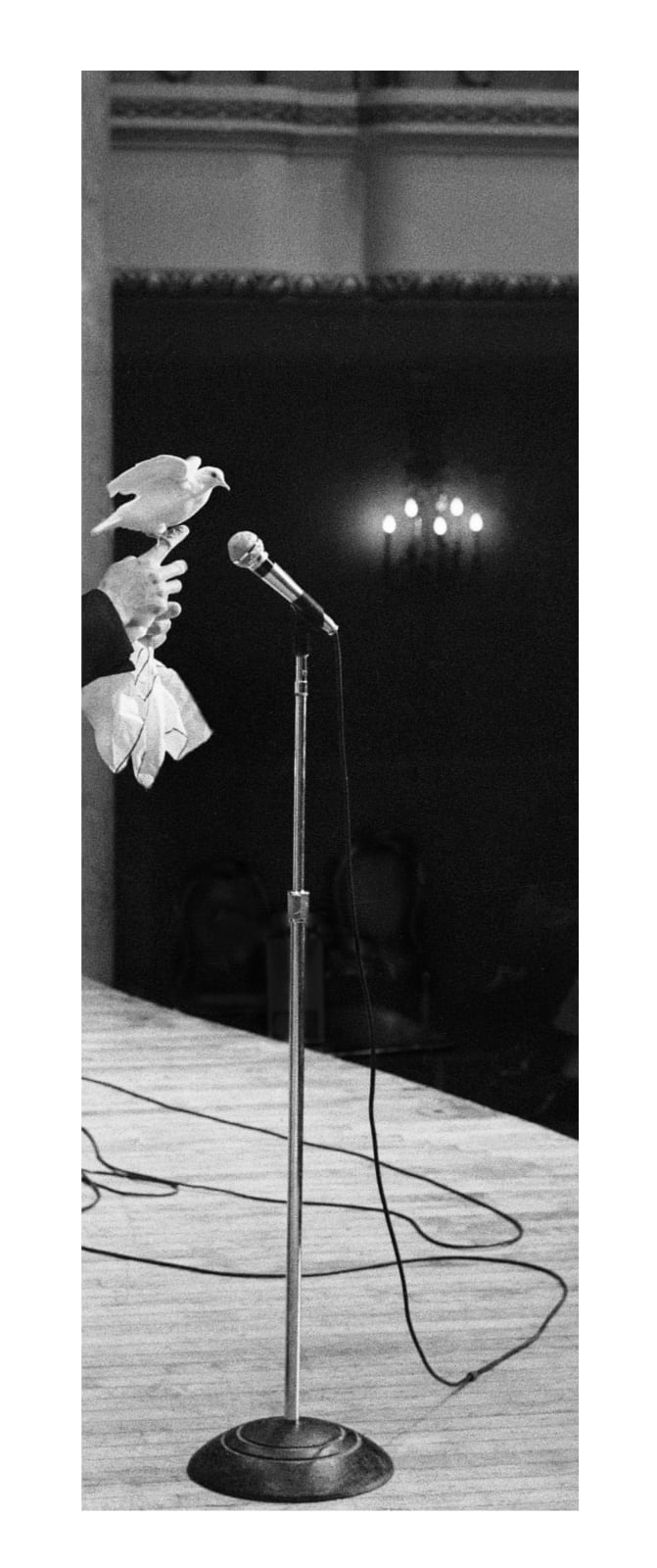 Lindsey White You, the performer, 2021 silver gelatin print 11 7/16 x 27 1/2 inches 1/3 + 2 AP