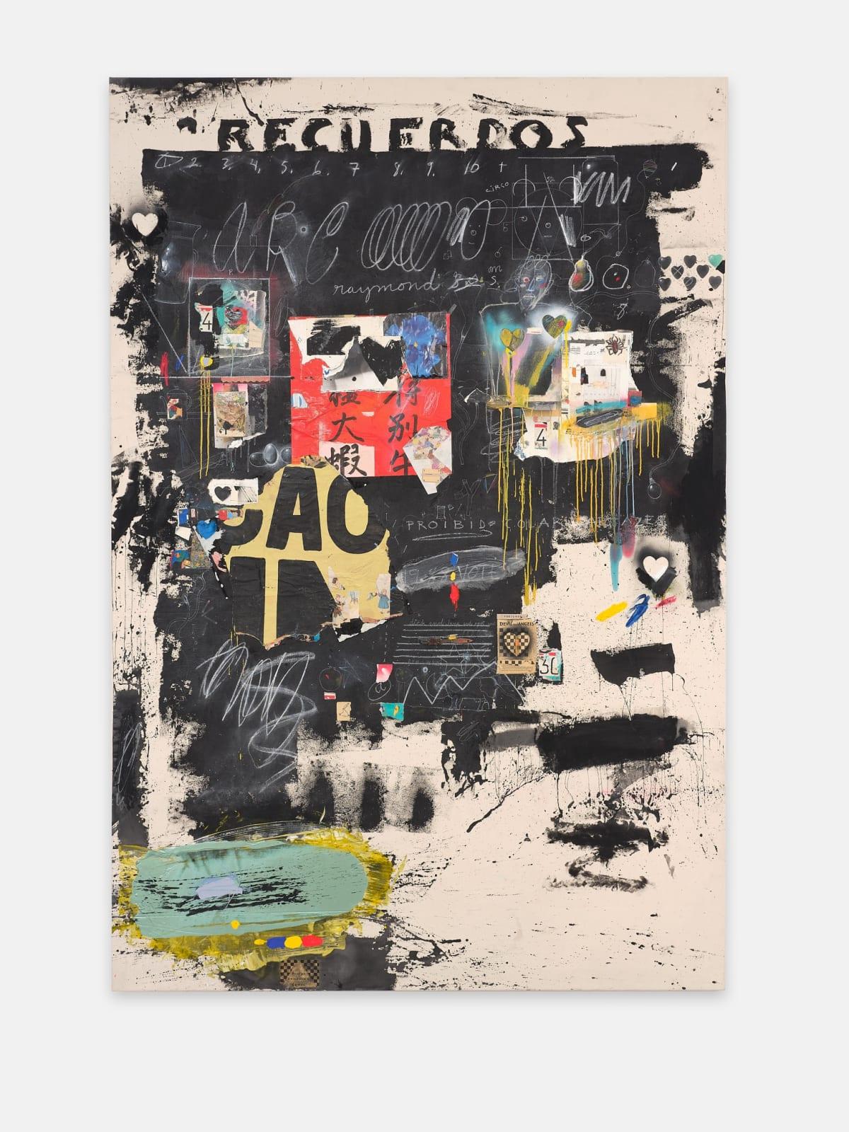 Raymond Saunders 40 Years: Paris/Oakland