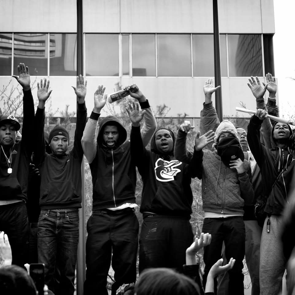 Sheila Pree Bright #1960 Now (Protest, 'All Night, All Day, We're Gonna Fight for Freddie Gray), 2015