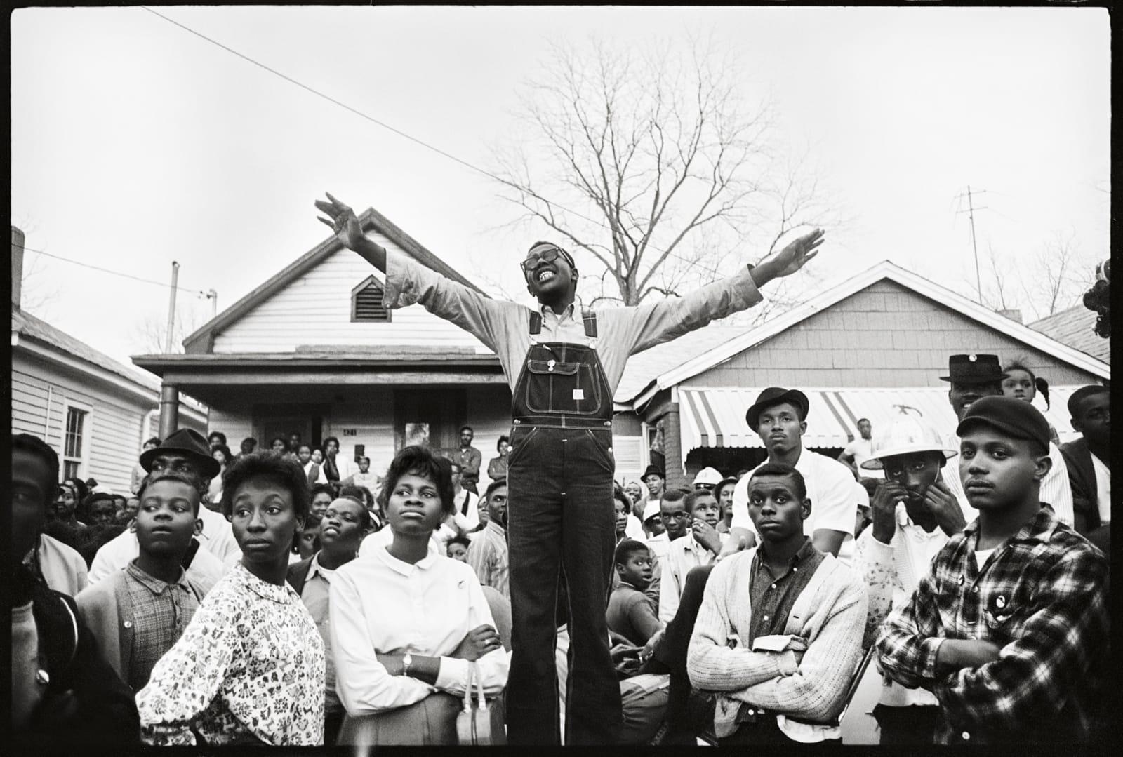 Steve Schapiro Organizer in Selma, 1965