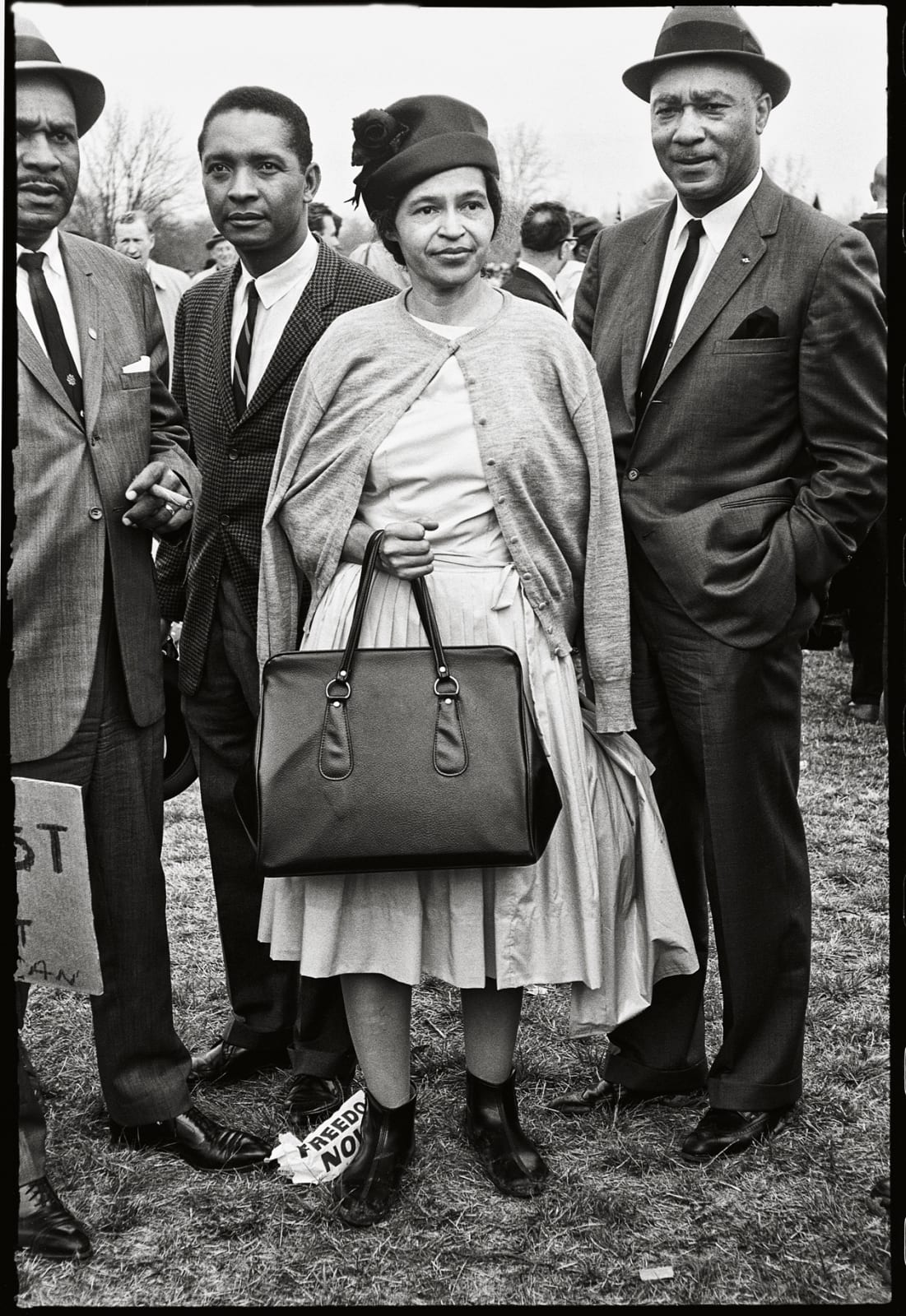 Steve Schapiro Rosa Parks / Selma March, 1965