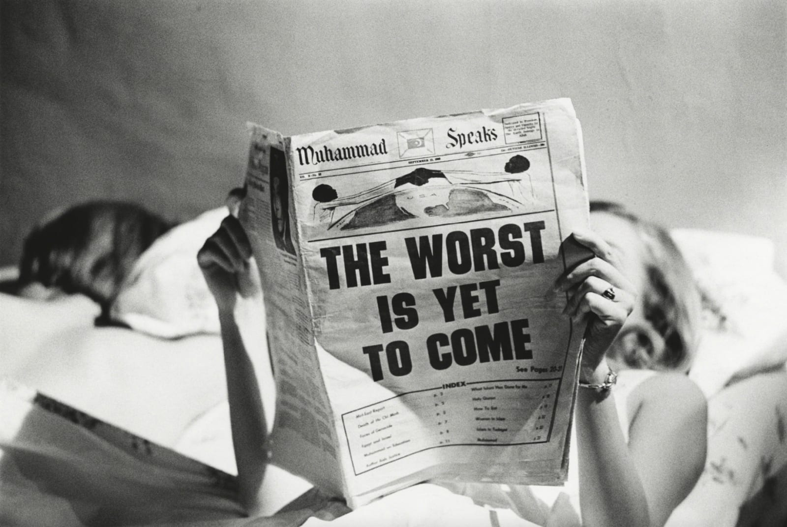 Steve Schapiro The Worst Is Yet to Come, New York, 1968