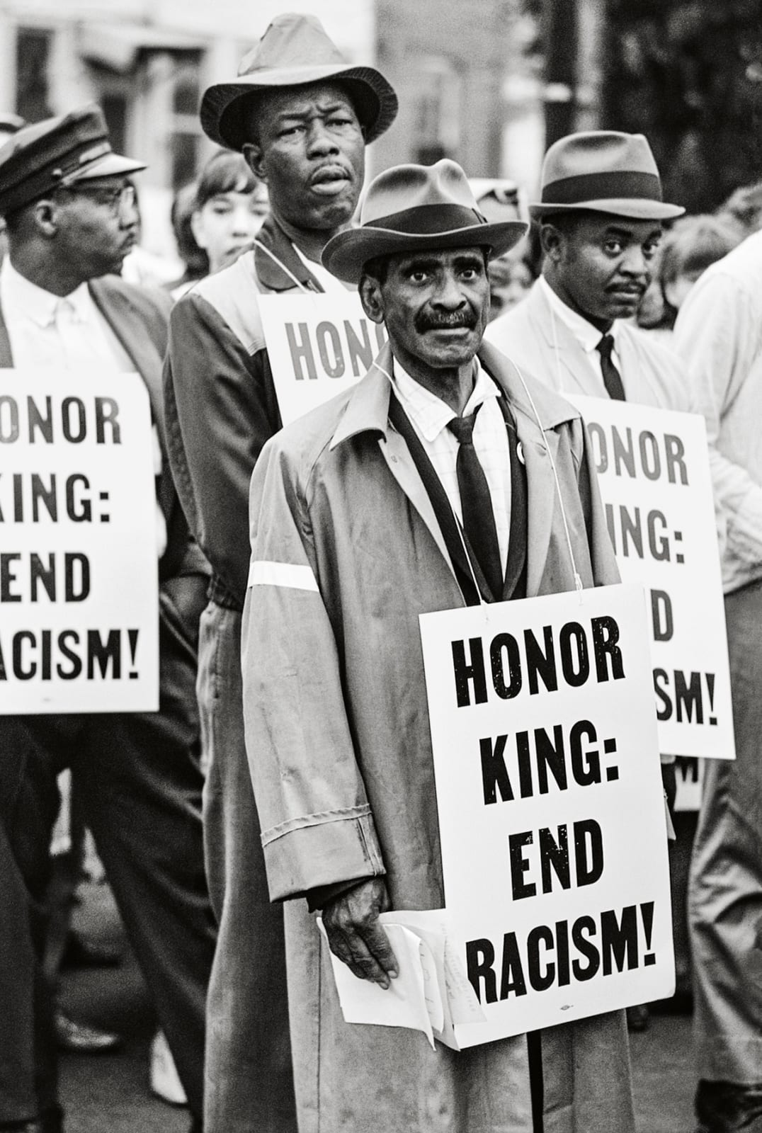 Steve Schapiro Honor King, End Racism, Memphis, Tennessee, 1968