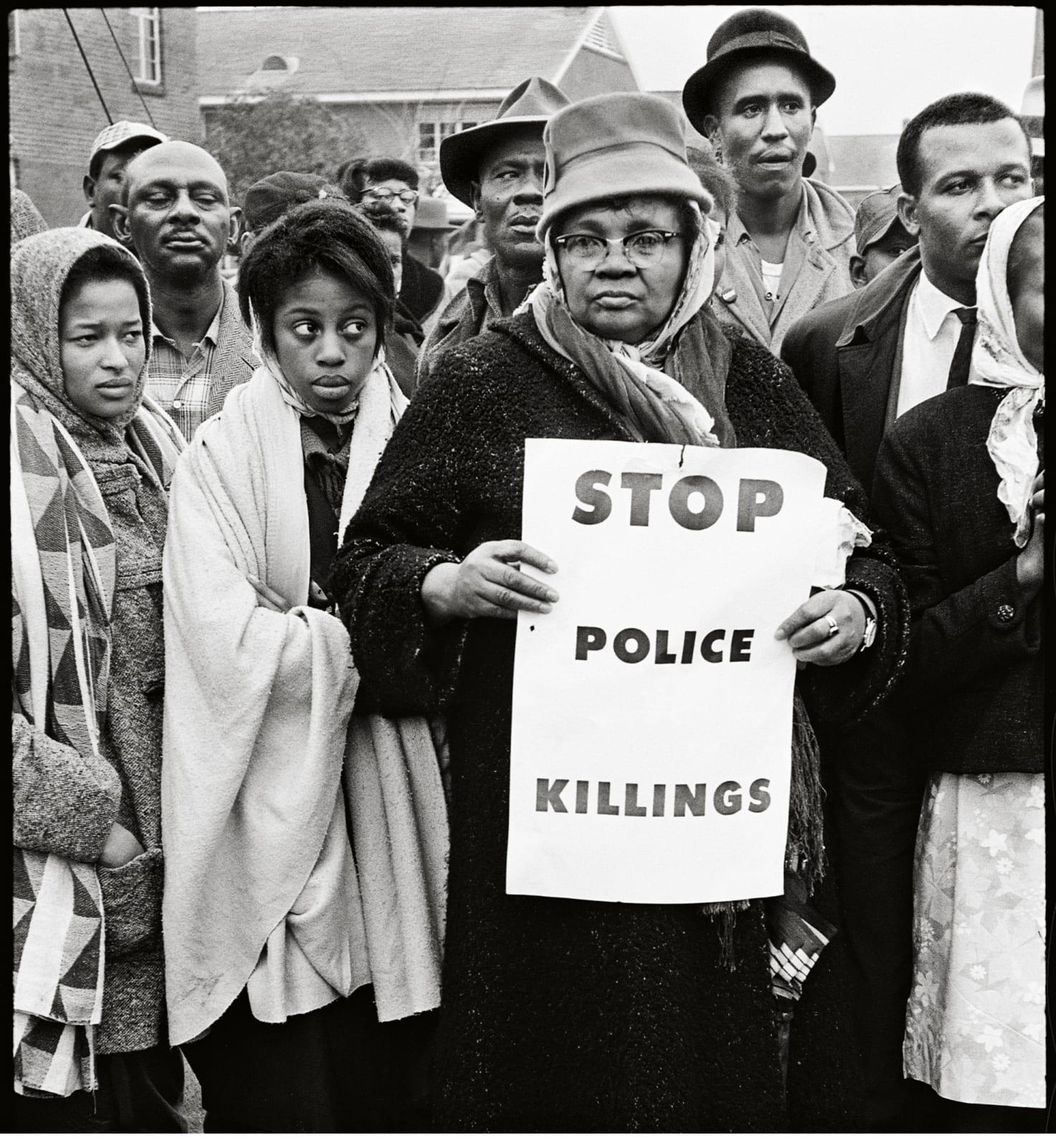 Steve Schapiro Stop Police Killings, Selma, 1965