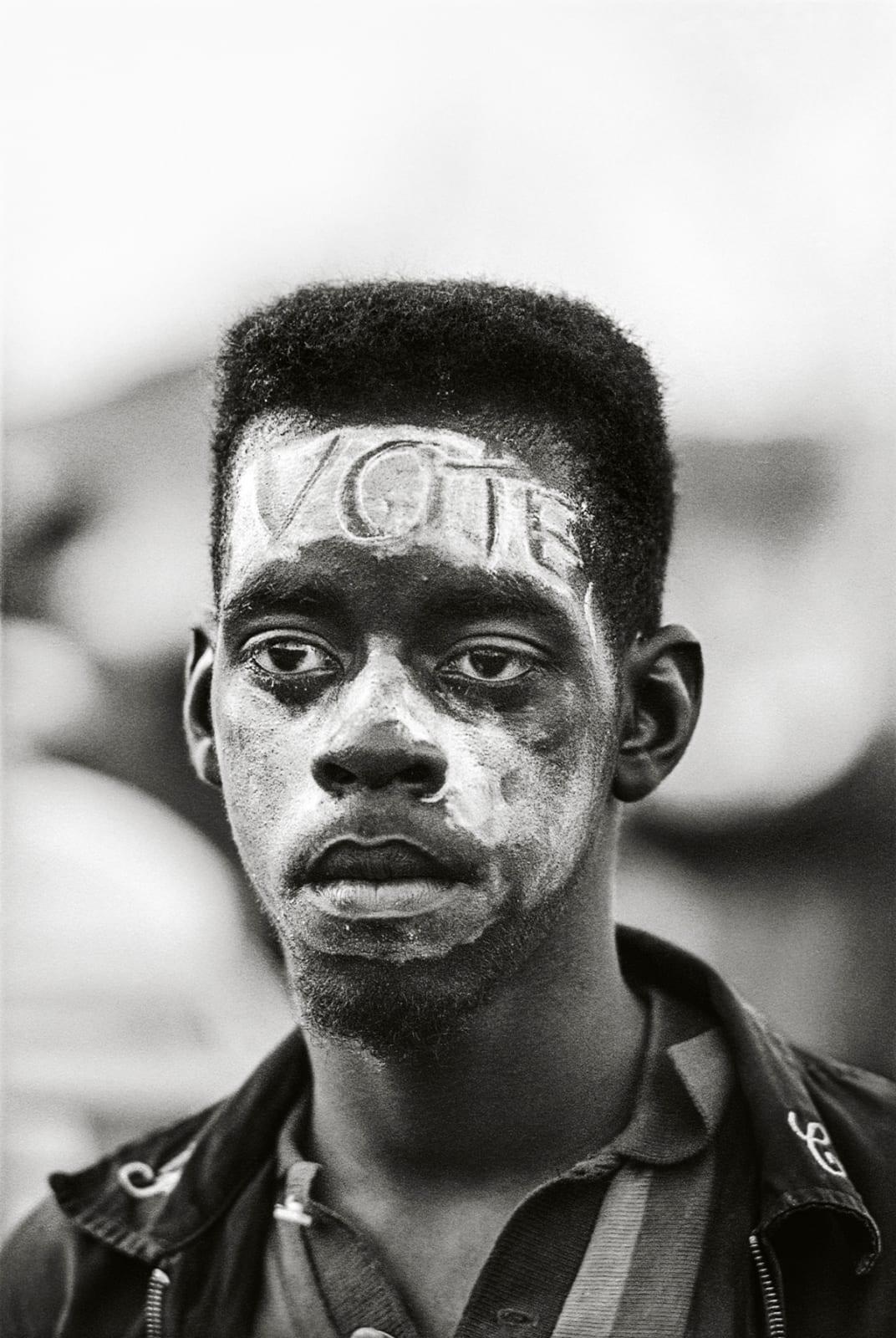 Steve Schapiro VOTE, Selma March, 1965