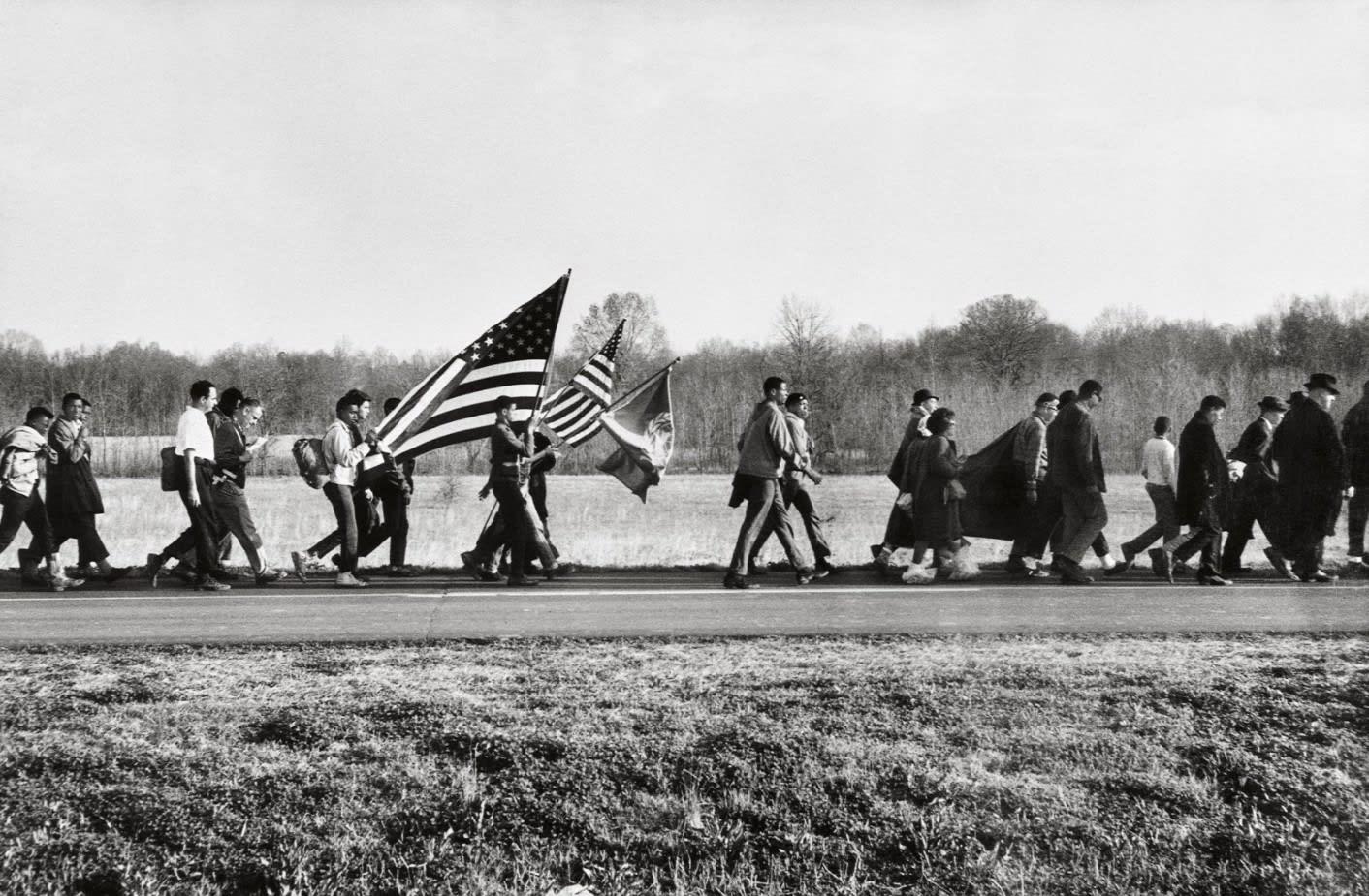 Steve Schapiro On the Road, Selma March, 1965