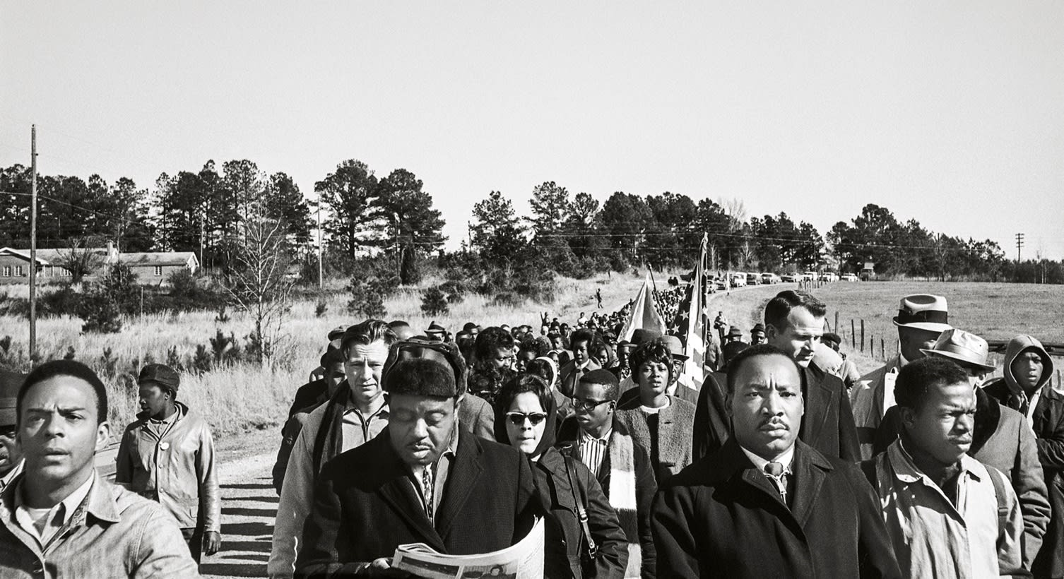 Steve Schapiro Start of the Selma March, 1965
