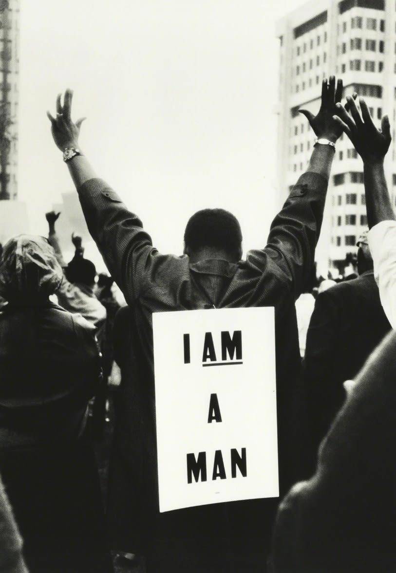 Steve Schapiro I Am A Man, Memphis, Tennessee, 1965