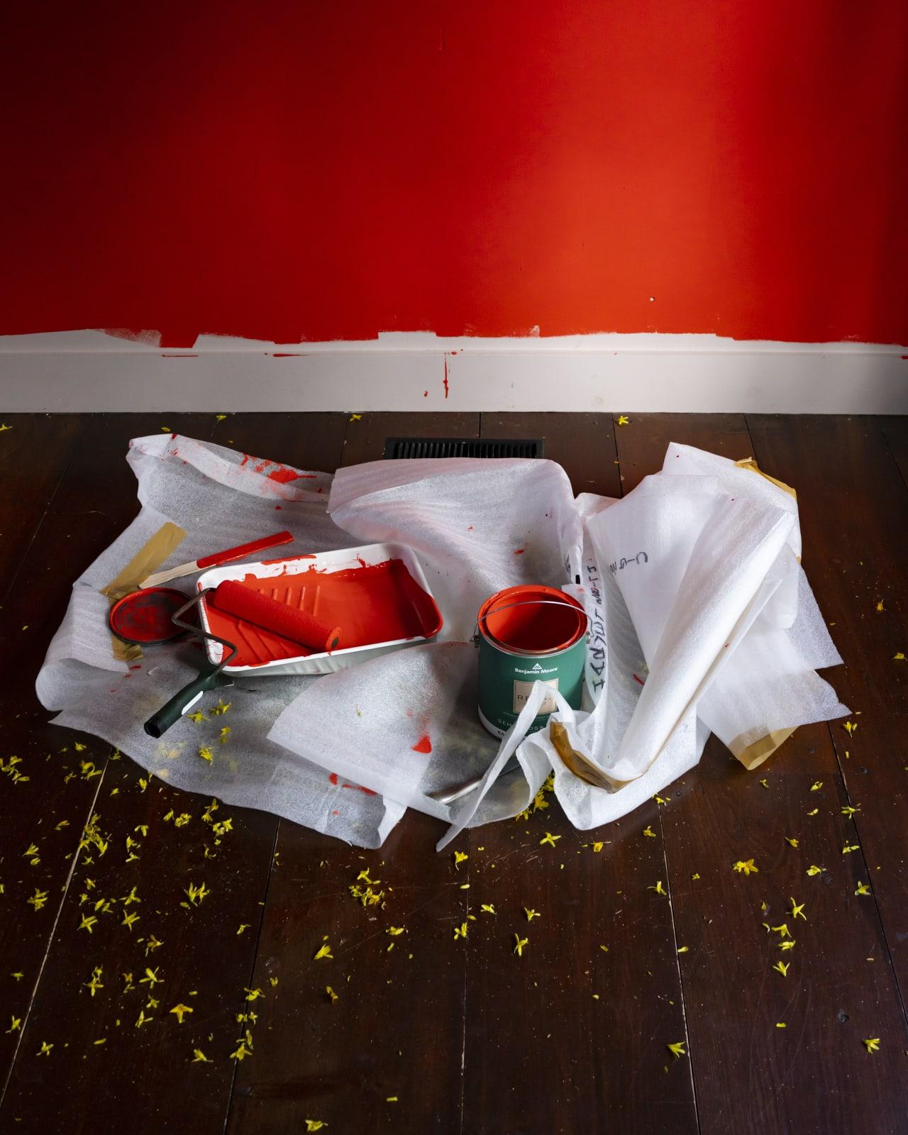 Cig Harvey, The Red Wall, 2020 20 x 16 inch chromogenic dye coupler print Edition of 10 40 x 30 inch chromogenic dye coupler print Edition of 7