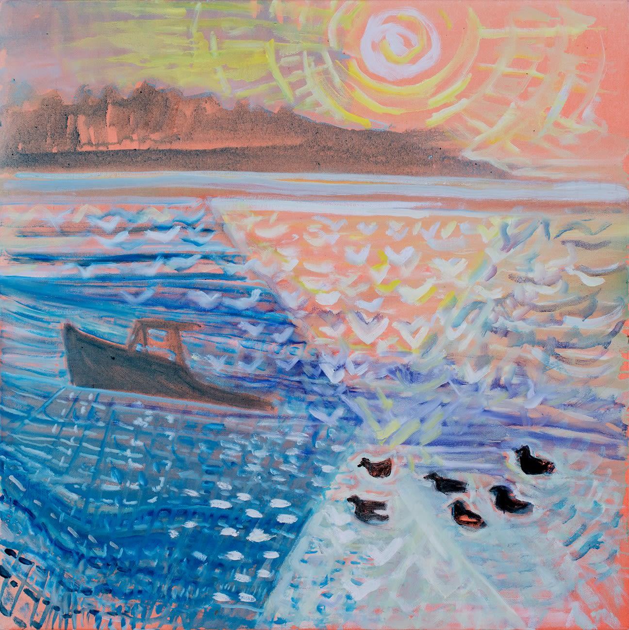 Brita Holmquist: Overhomer - Paintings from Around the Bay