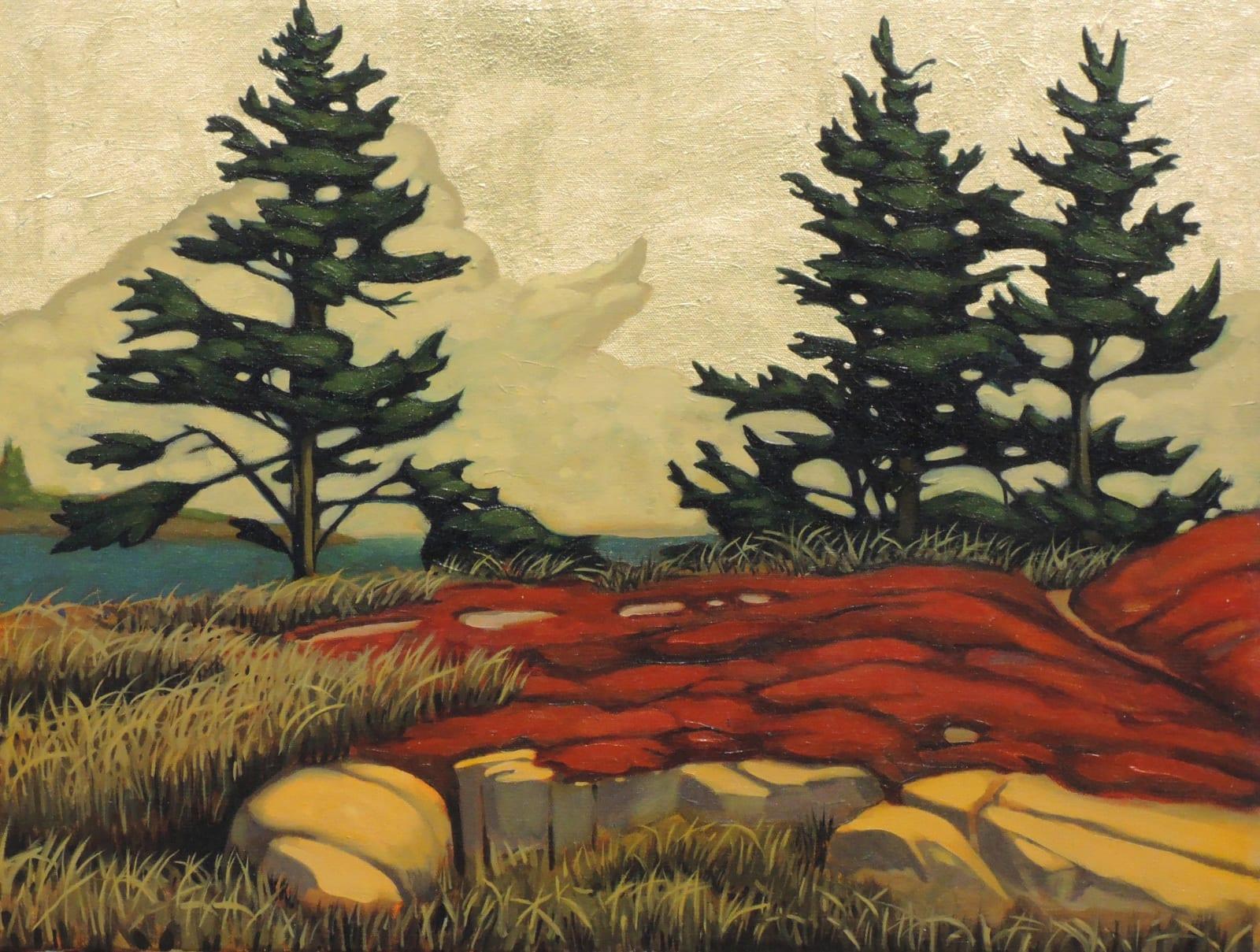 Nathaniel Meyer: Arcardian Shores - Restoration of the Golden Age
