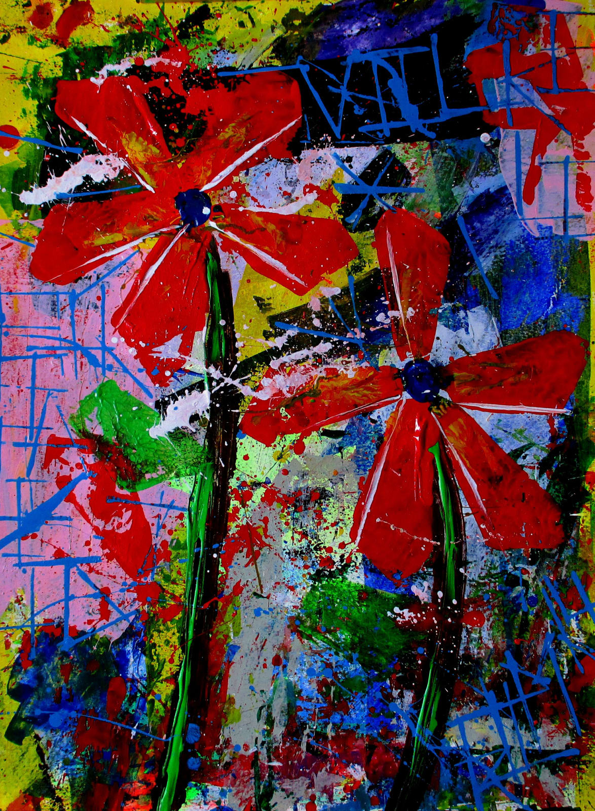 Palette Flowers - 2014