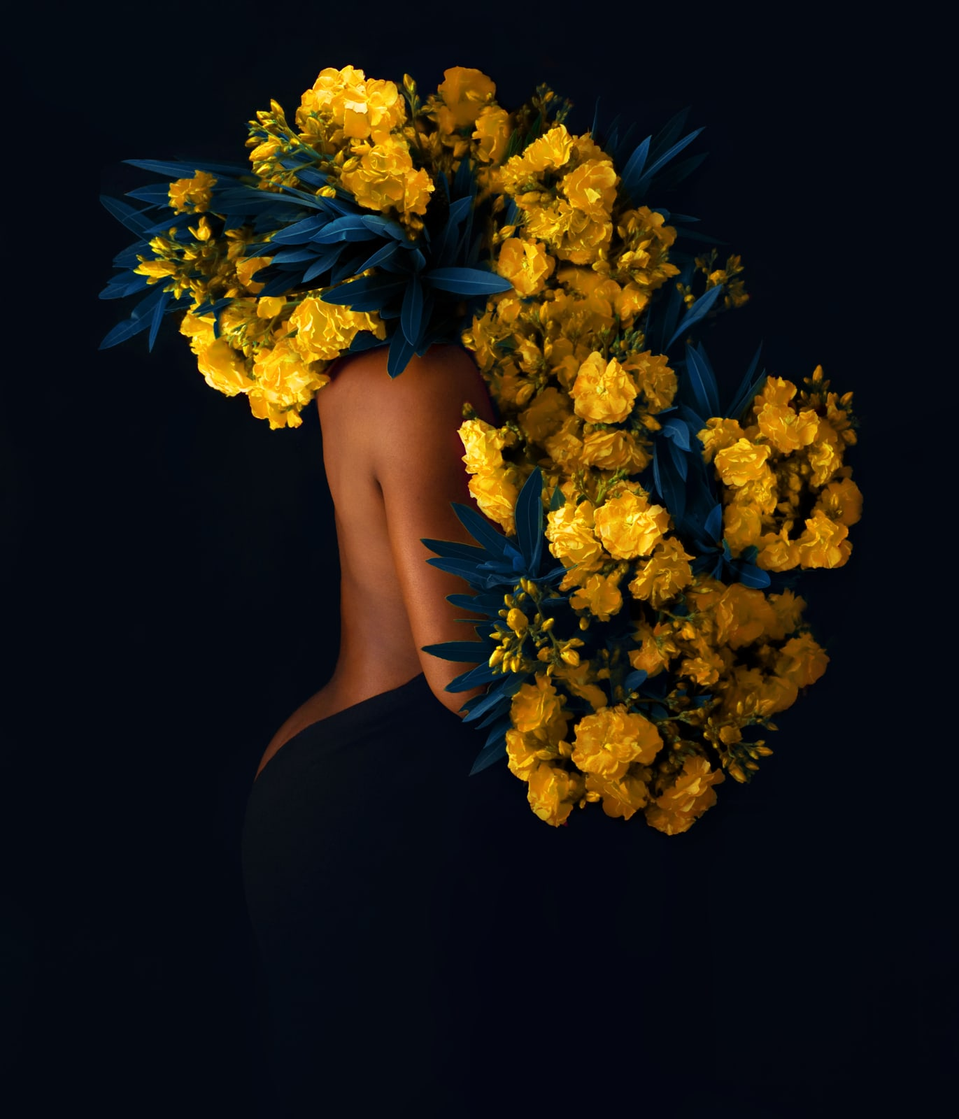 Fares Micue. Beauty in the Dark, 2020. Printed on high-quality fine art Canson paper. 70.1 × 59.9 cm. Edition of 20.