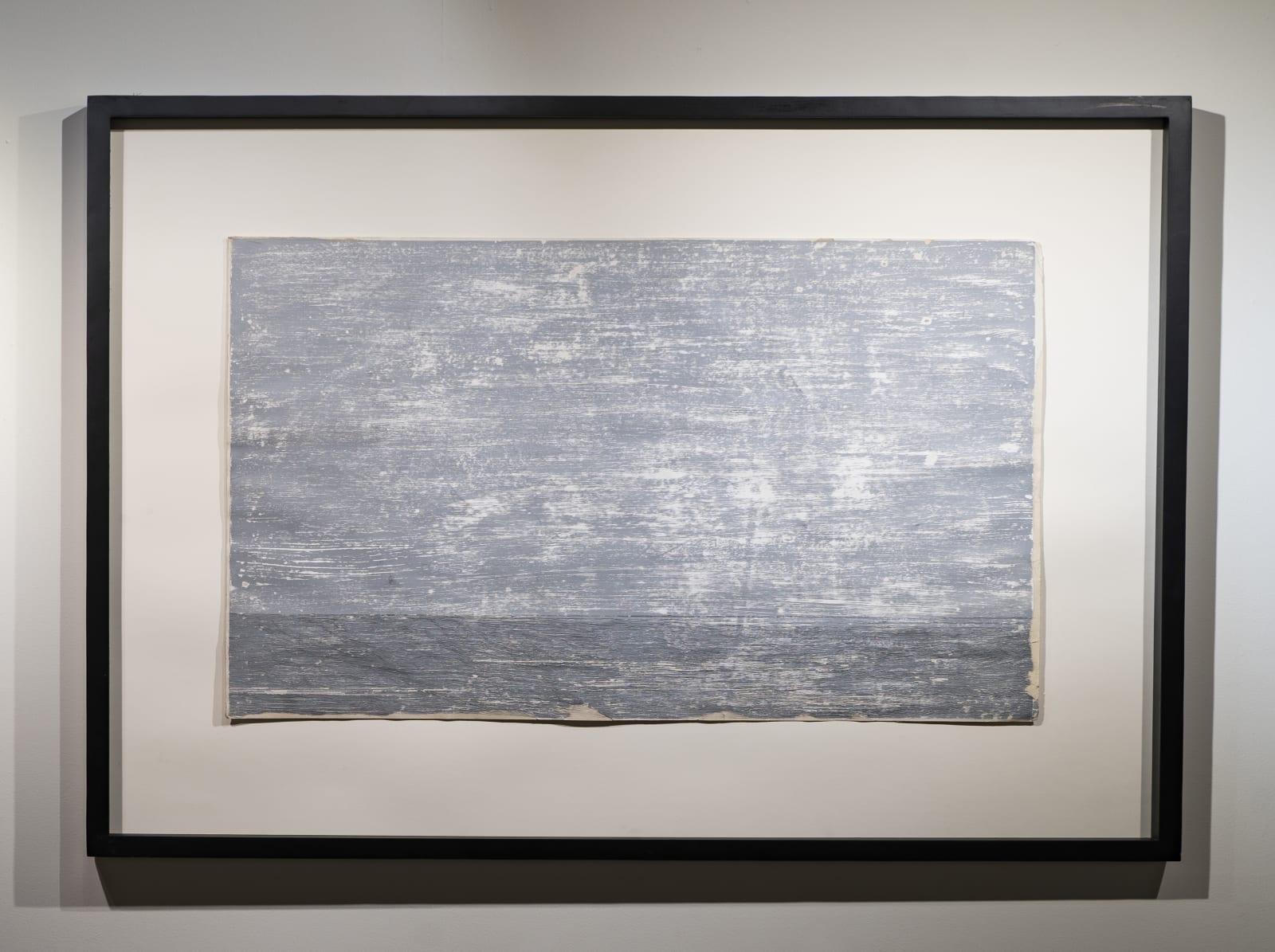 DEEPAK AGASTHYA Number 17, 2020 | Glass marker on paper | 8.3 x 11.5 in.