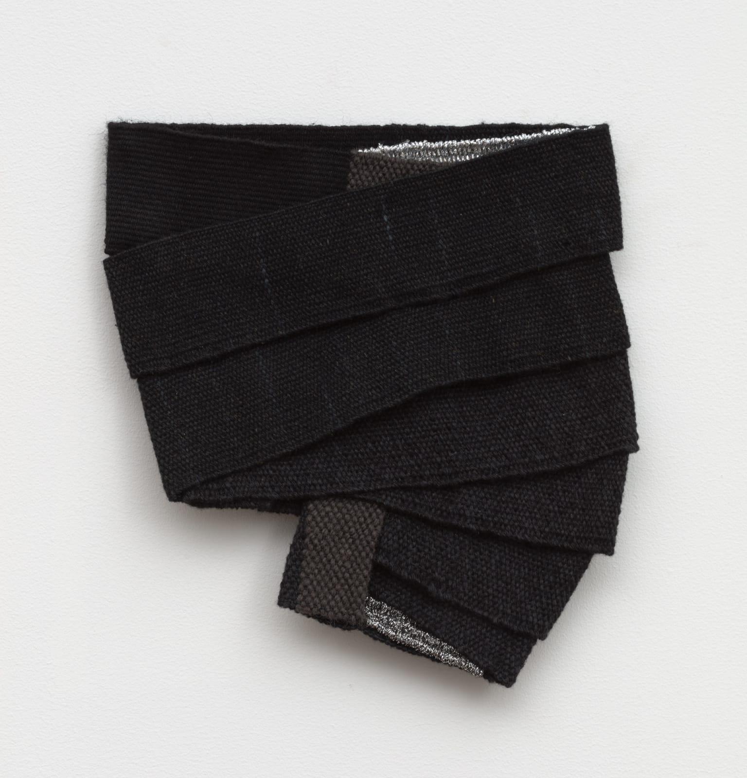 Hana Miletić (b. 1982) Materials, 2019 hand-woven textile 9 3/8 x 8 3/8 x 3/4 in (23.8 x 21.3 x 1.9 cm) (MIL7816)