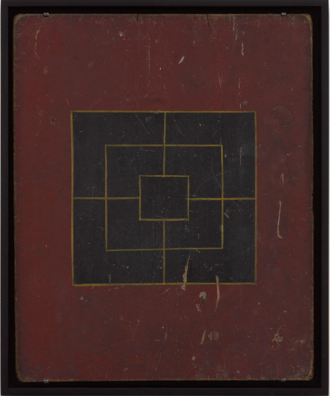 MILLS GAME BOARD 19 x 15 1/2 in. 48.3 x 39.4 cm. (AU 296)