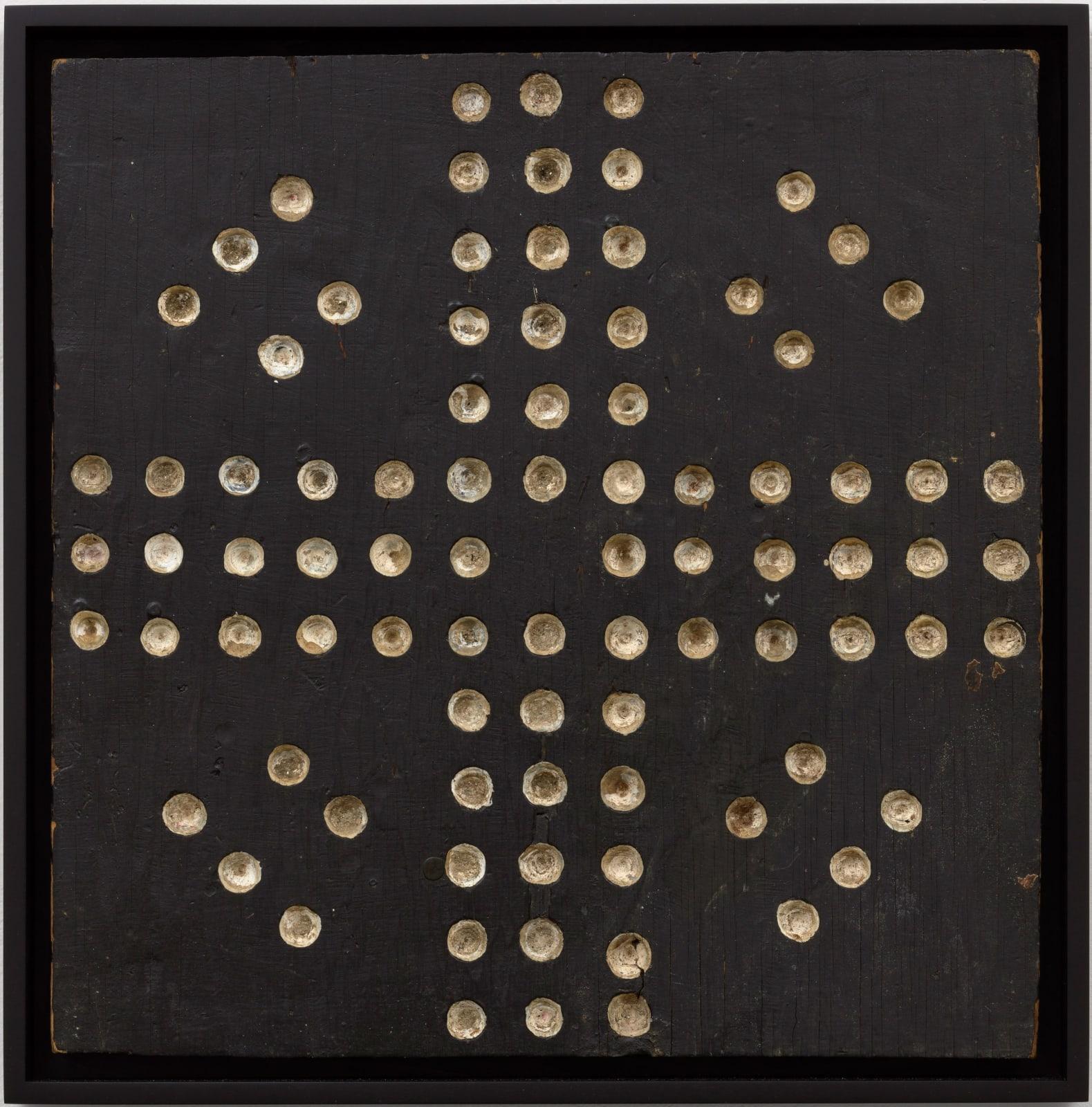 Wahoo Game Board, c. 1920-30 16 1/2 x 16 in. 41.9 x 40.6 cm. (AU 308)