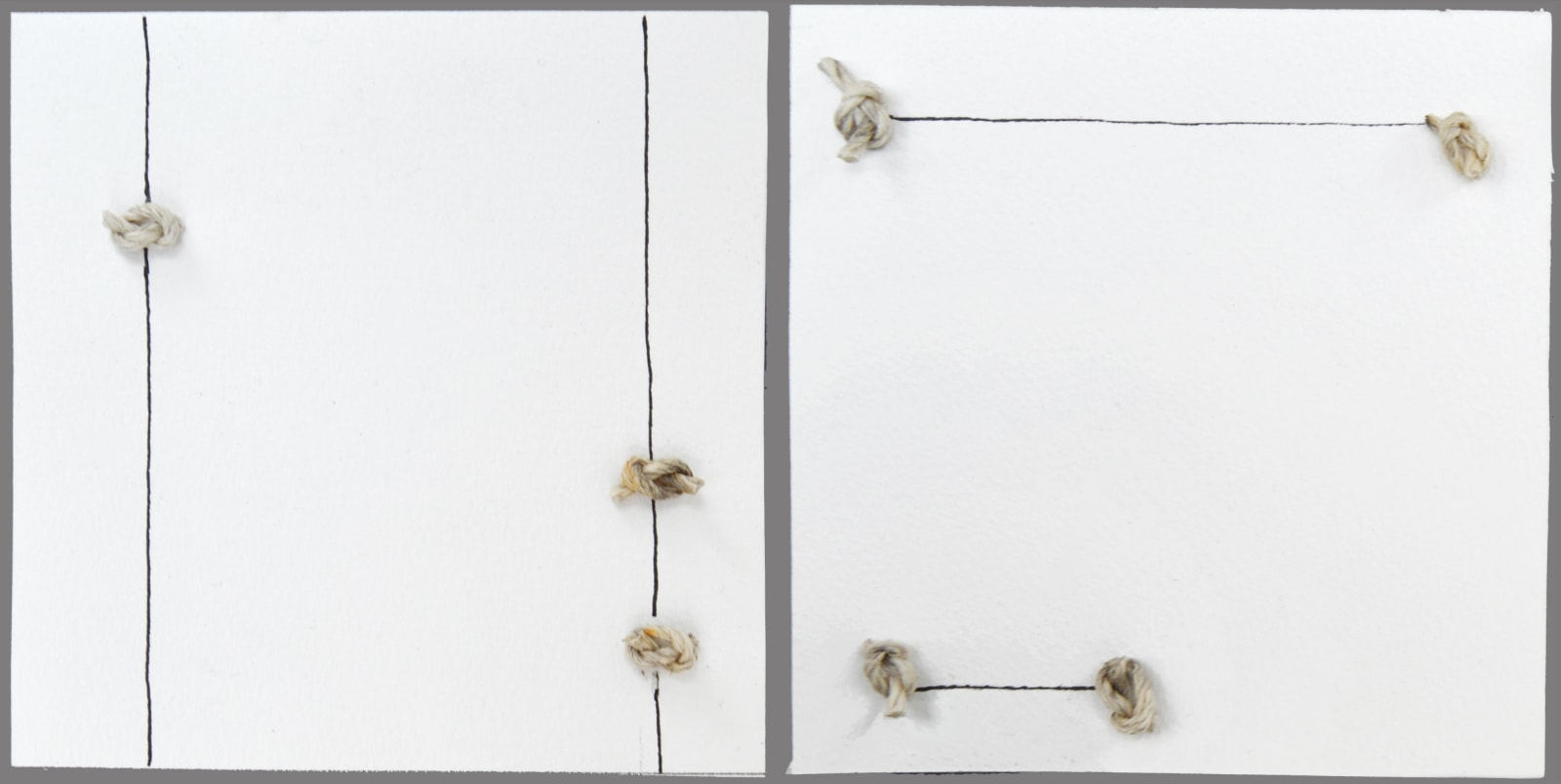 Toni Ross Untitled, 2019 Mixed media on paper 4 x 8 1/4 in. (TR 214) $2,800