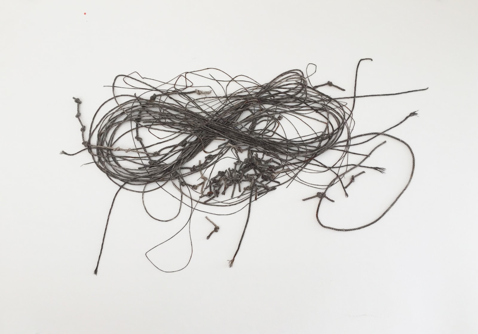 Toni Ross Cursive Drawing #5, 2019 Mixed media on paper 28 1/2 x 41 in. (TR 218) $7,500