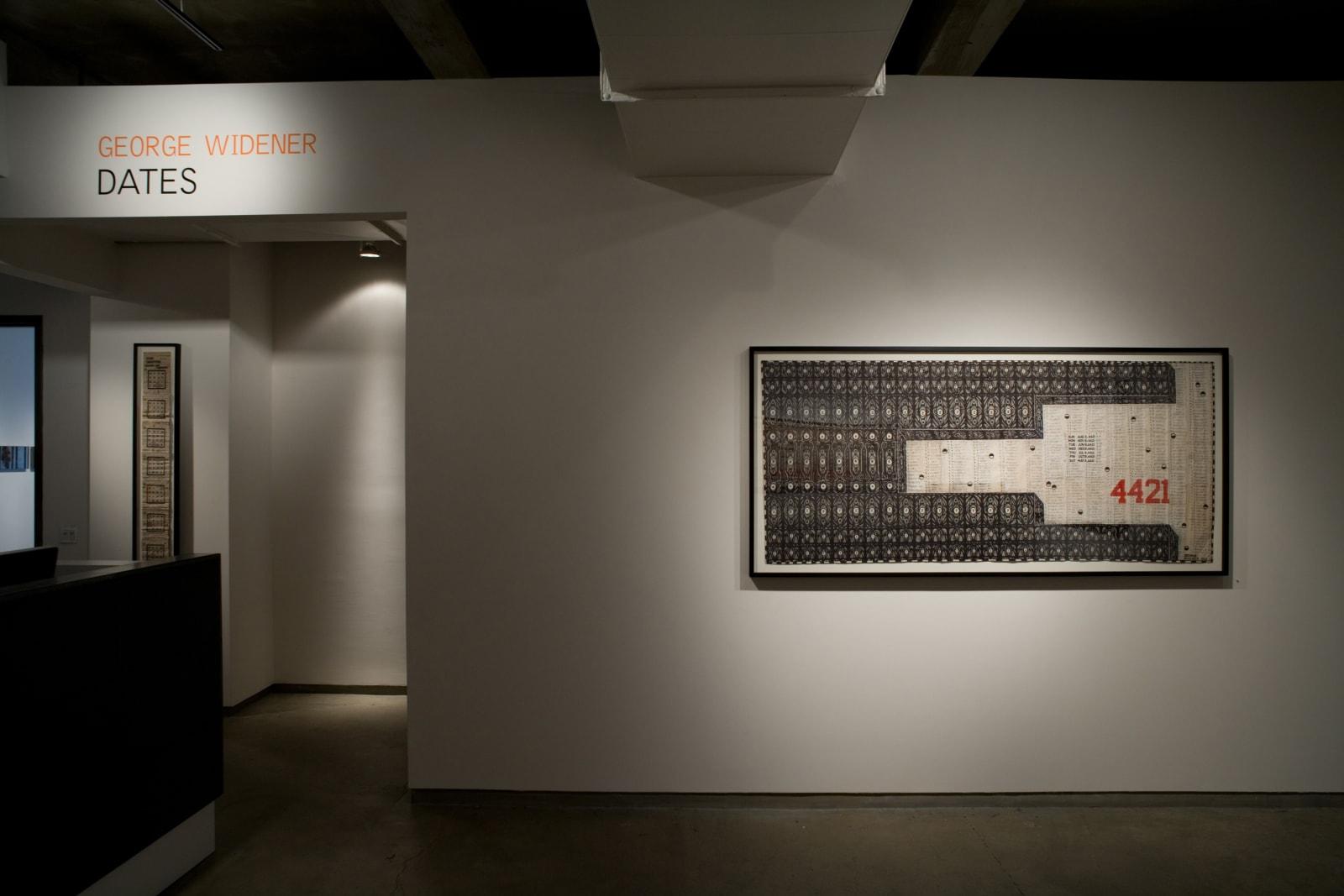 George Widener: Dates