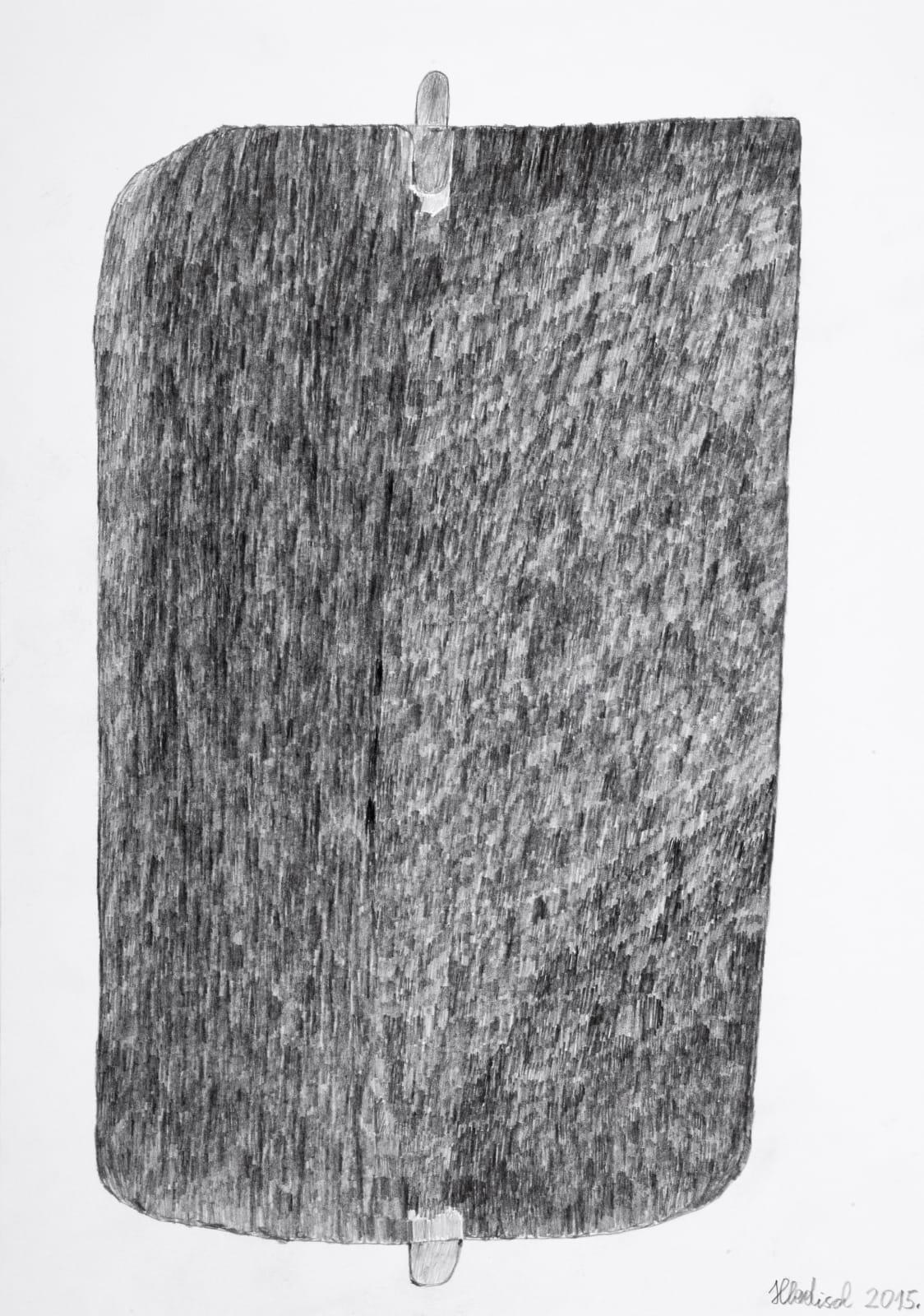 THERMOPHORE, 2015 Graphite on paper 16.5 x 11.7 in. (42 x 29.7 cm) HH 16 $3,400